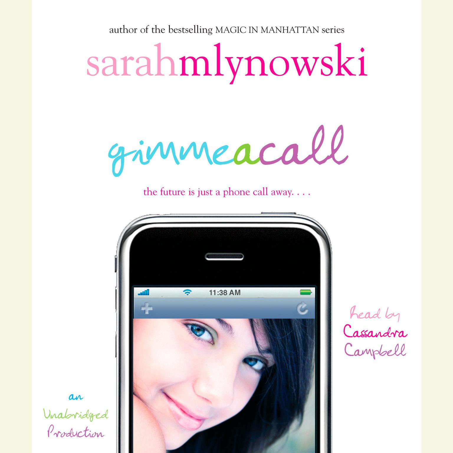 Printable Gimme a Call Audiobook Cover Art