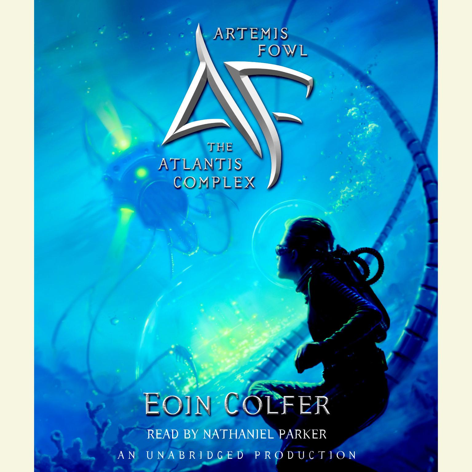 Printable Artemis Fowl 7: The Atlantis Complex Audiobook Cover Art
