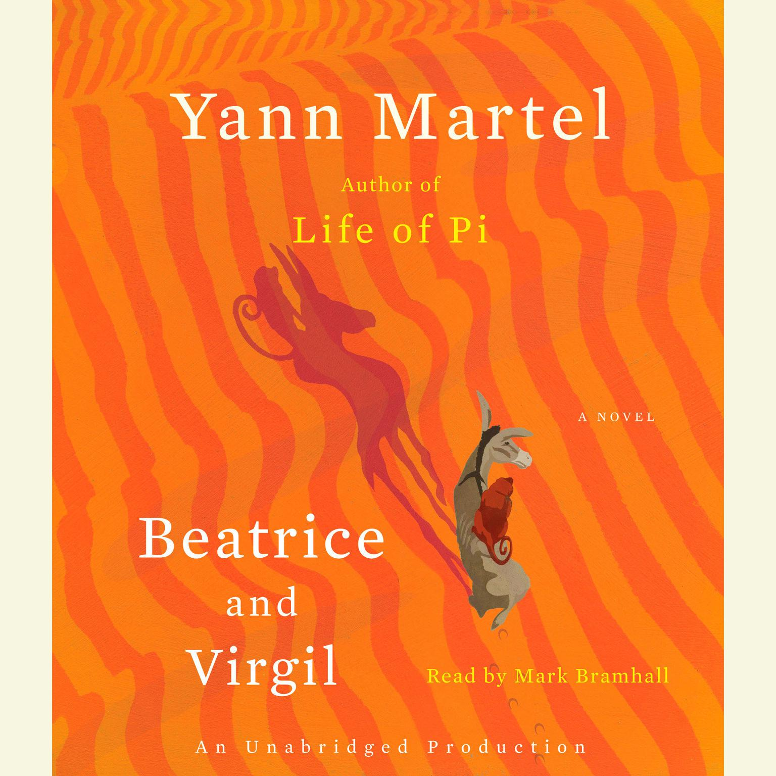 Printable Beatrice and Virgil: A Novel Audiobook Cover Art
