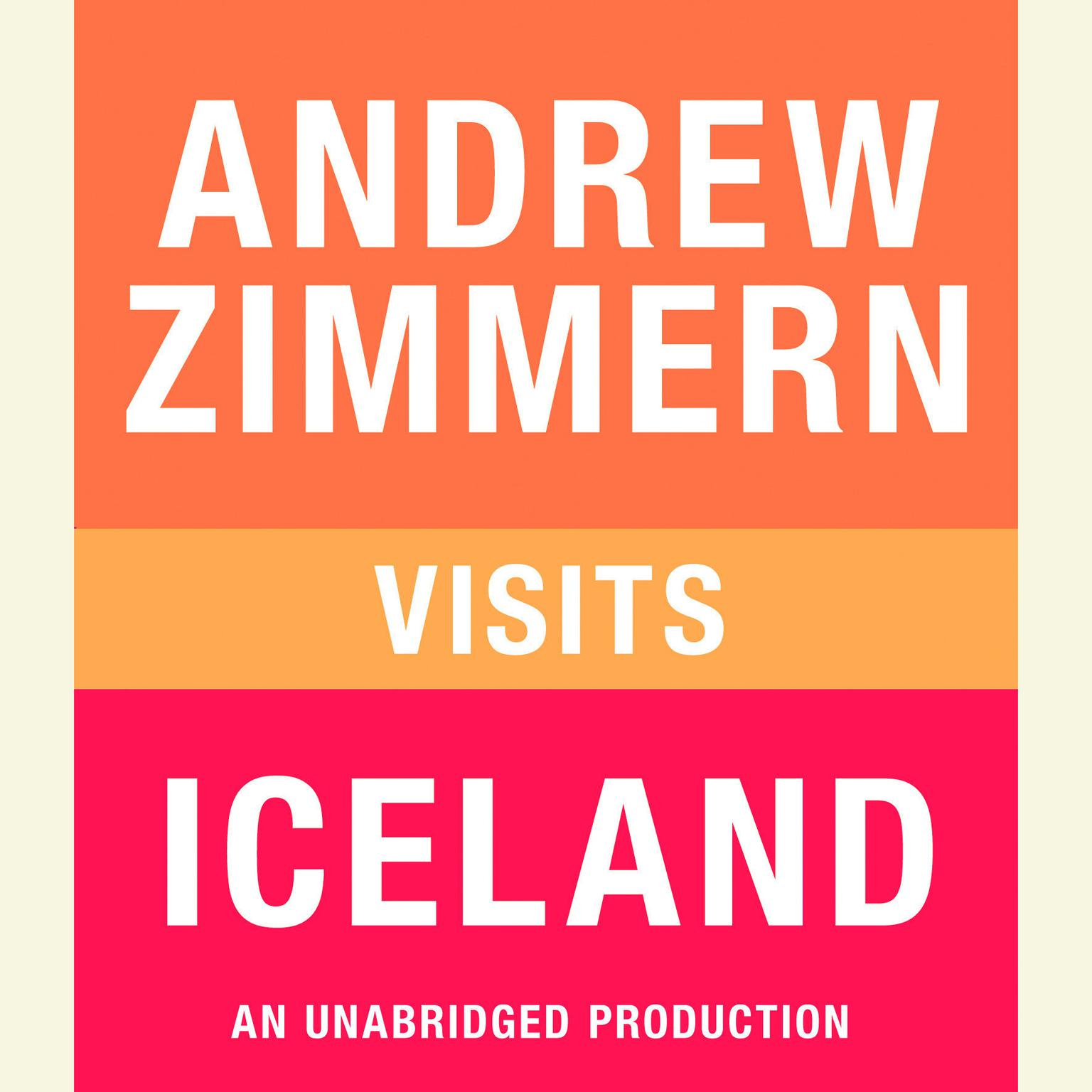 Printable Andrew Zimmern Visits Iceland Audiobook Cover Art