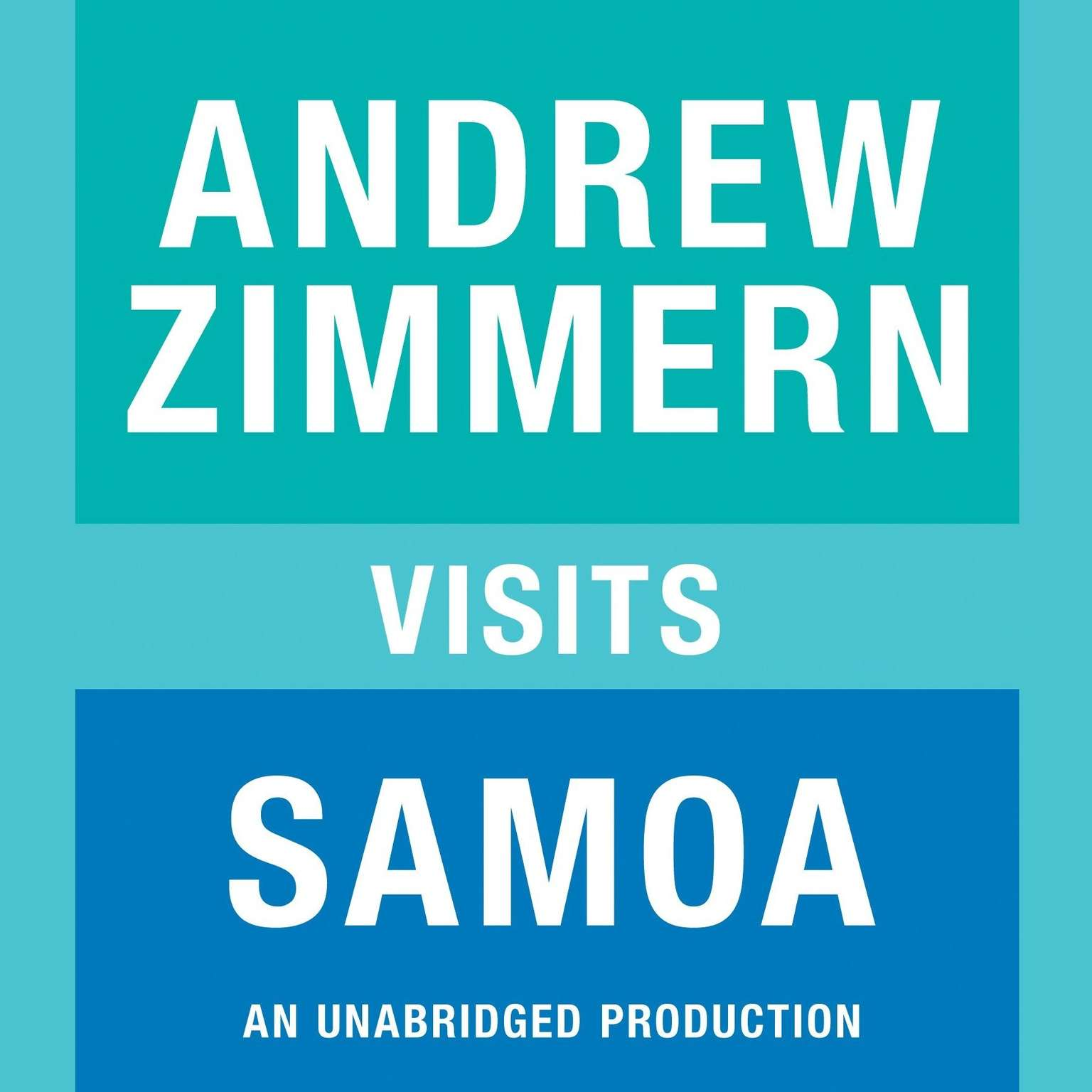 Printable Andrew Zimmern visits Samoa: Chapter 2 from THE BIZARRE TRUTH Audiobook Cover Art