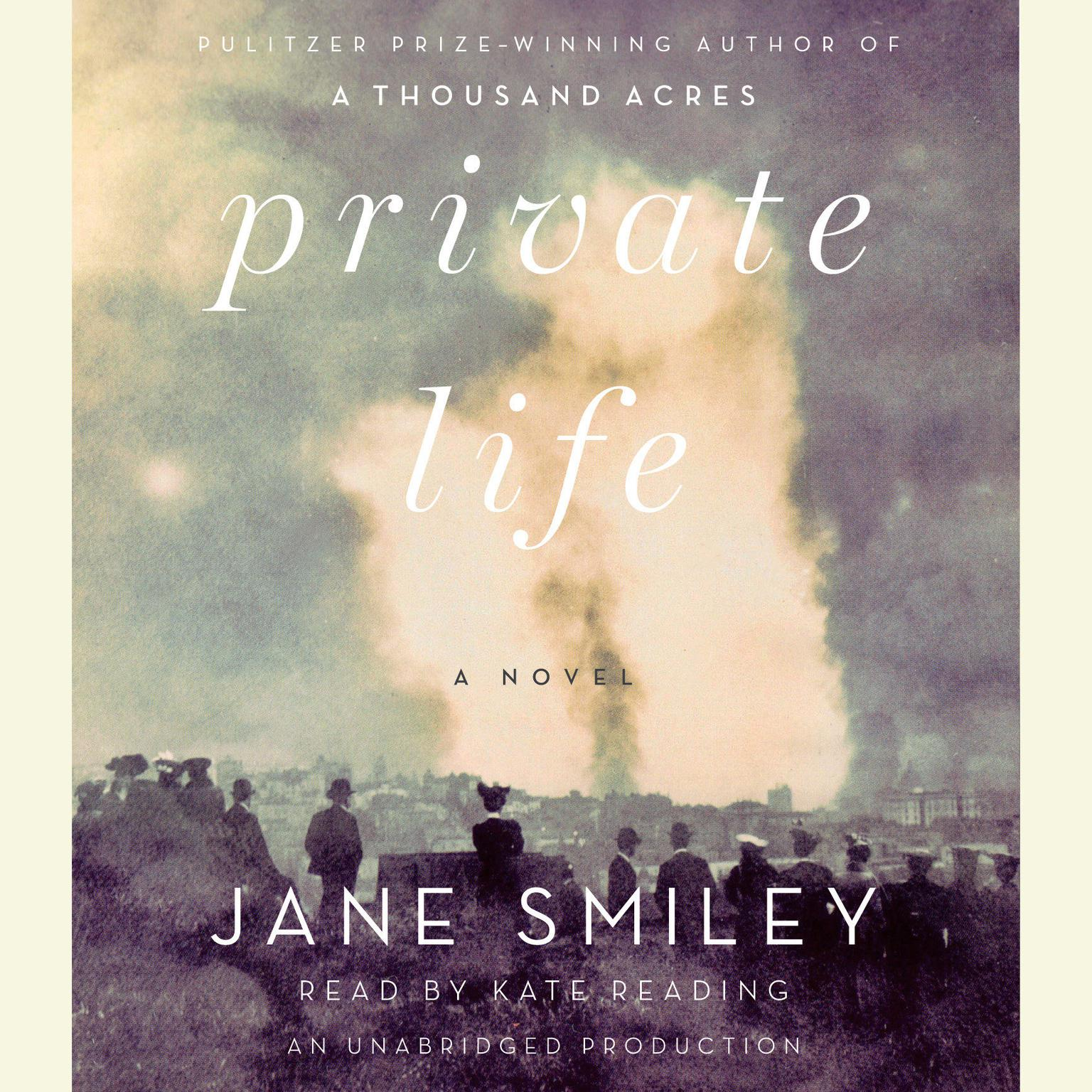 Printable Private Life Audiobook Cover Art