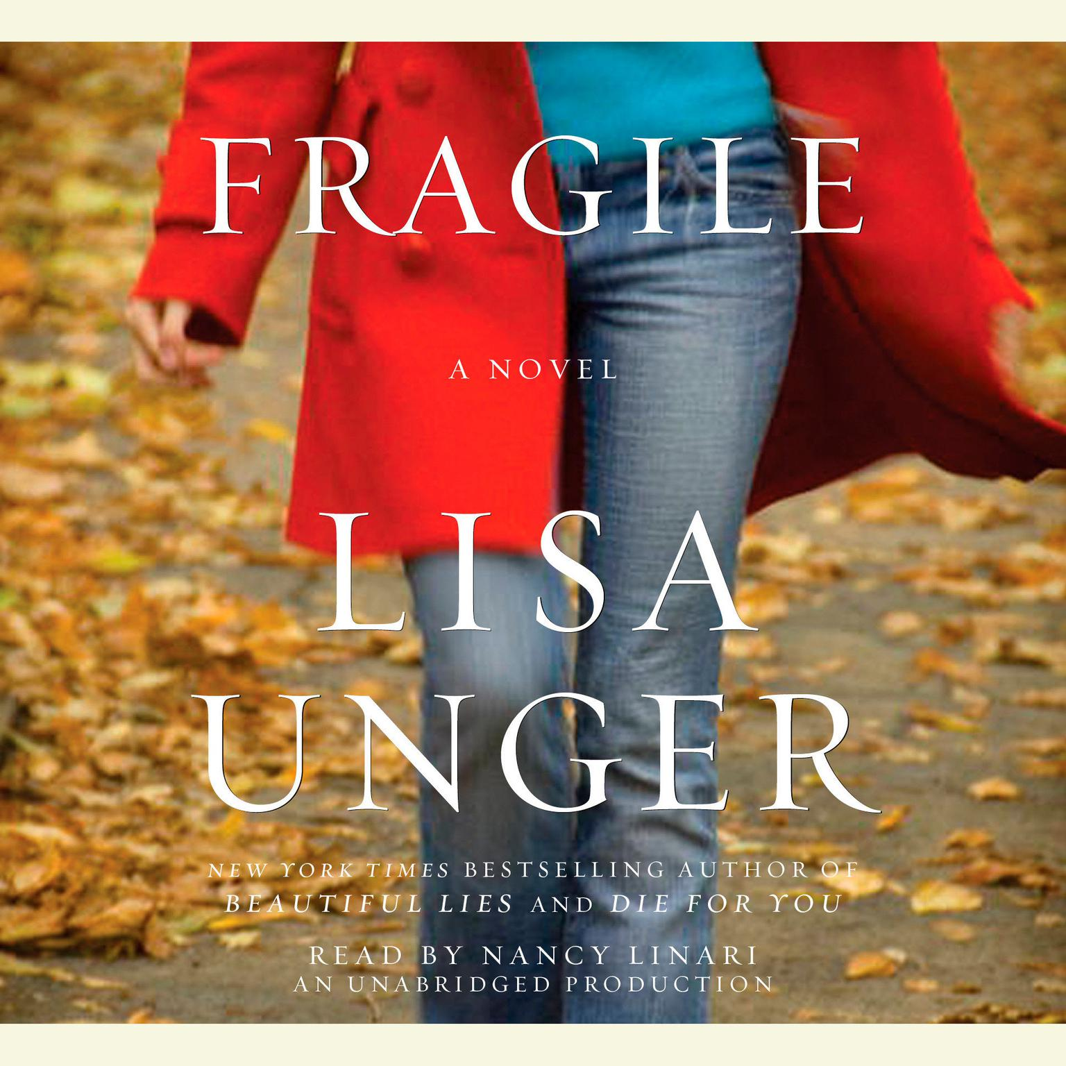 Printable Fragile: A Novel Audiobook Cover Art