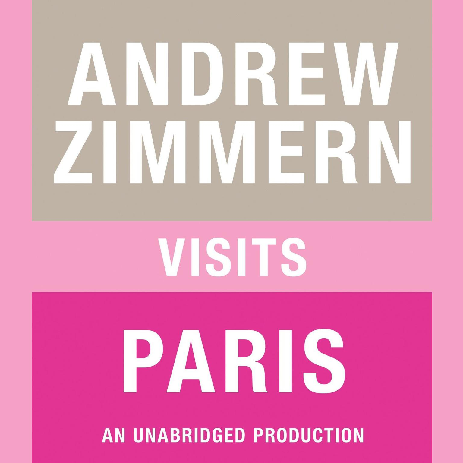 Printable Andrew Zimmern visits Paris: Chapter 9 from THE BIZARRE TRUTH Audiobook Cover Art