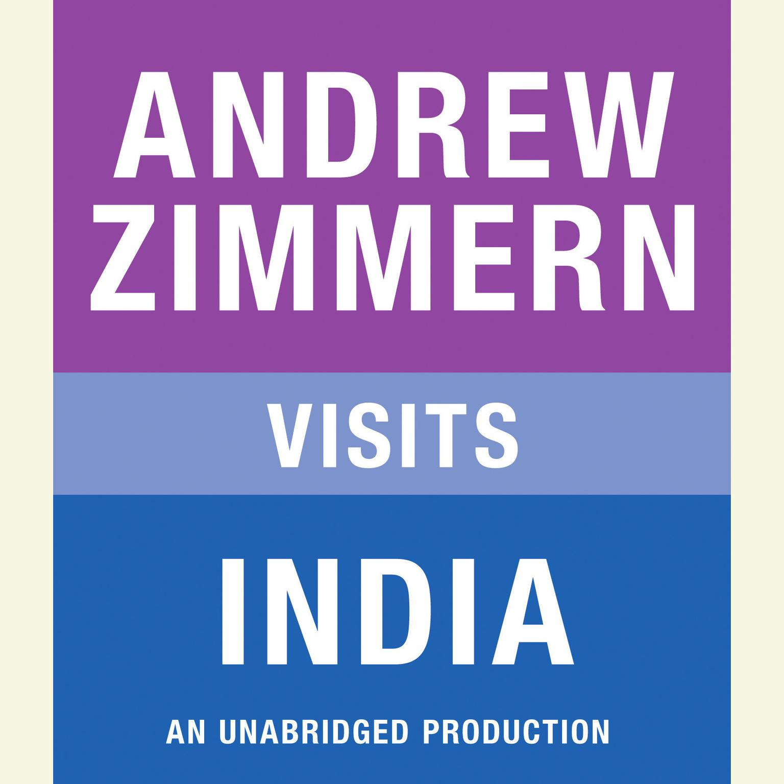 Printable Andrew Zimmern visits India: Chapter 10 from THE BIZARRE TRUTH Audiobook Cover Art