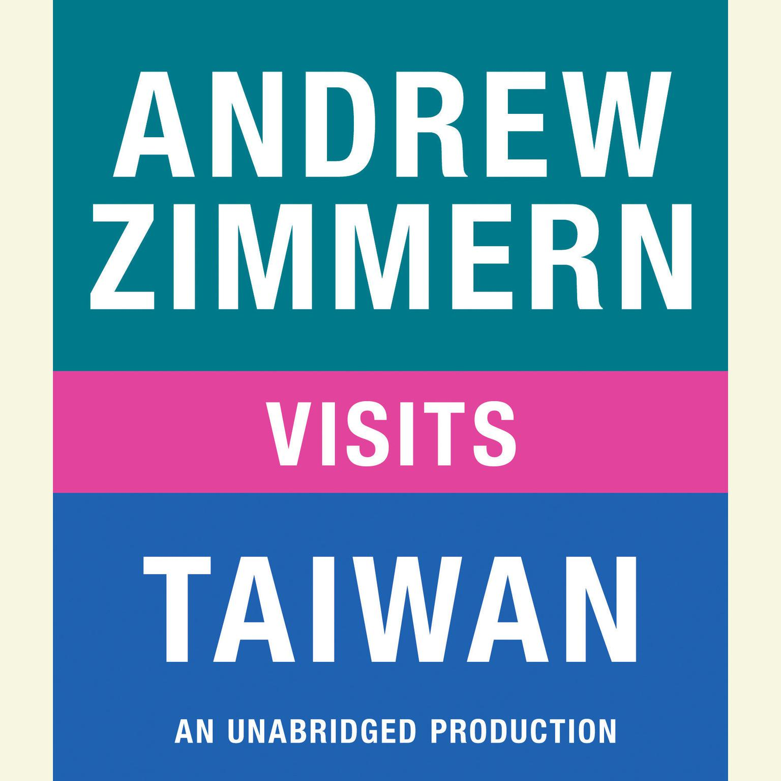 Printable Andrew Zimmern Visits Taiwan Audiobook Cover Art