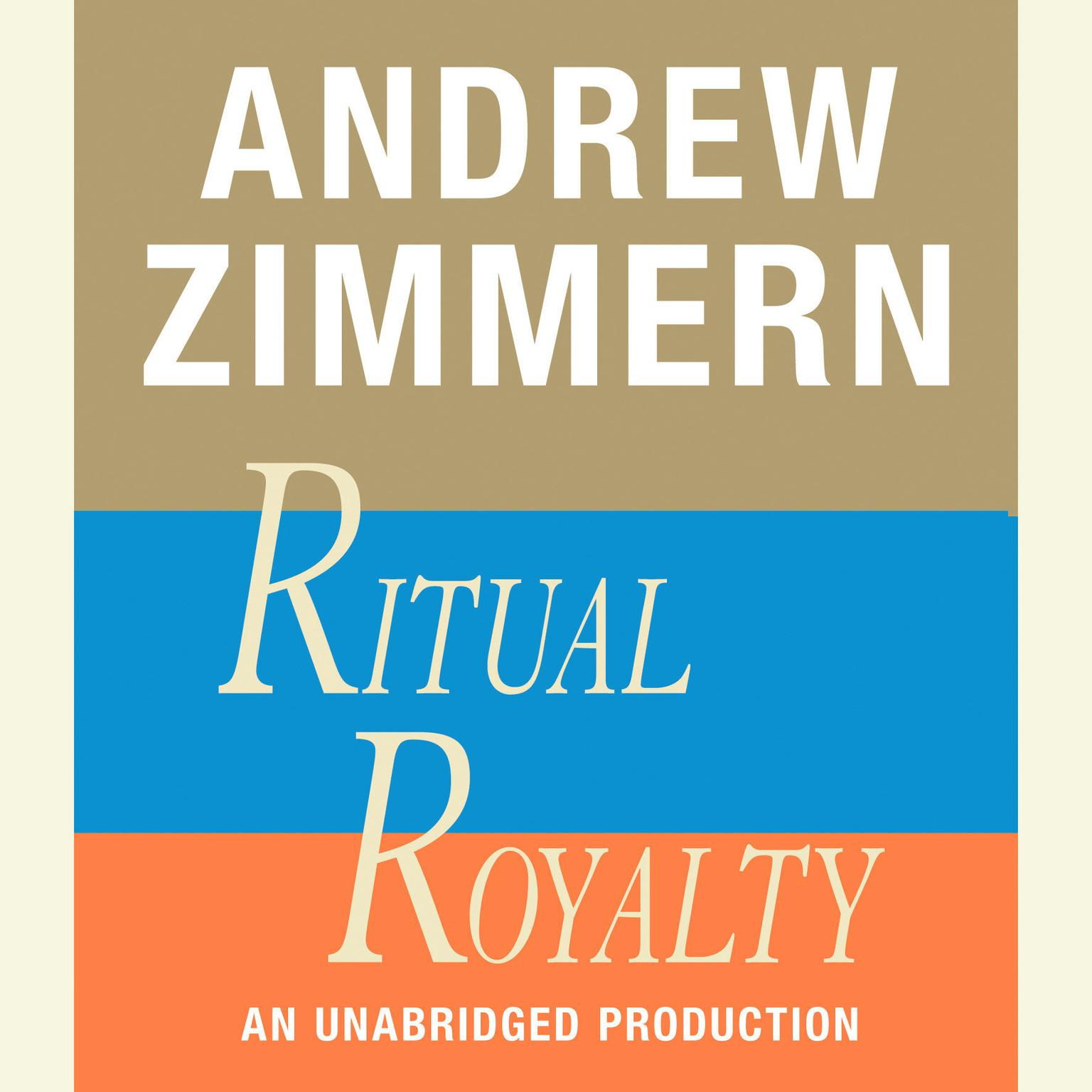 Printable Andrew Zimmern, Ritual Royalty Audiobook Cover Art