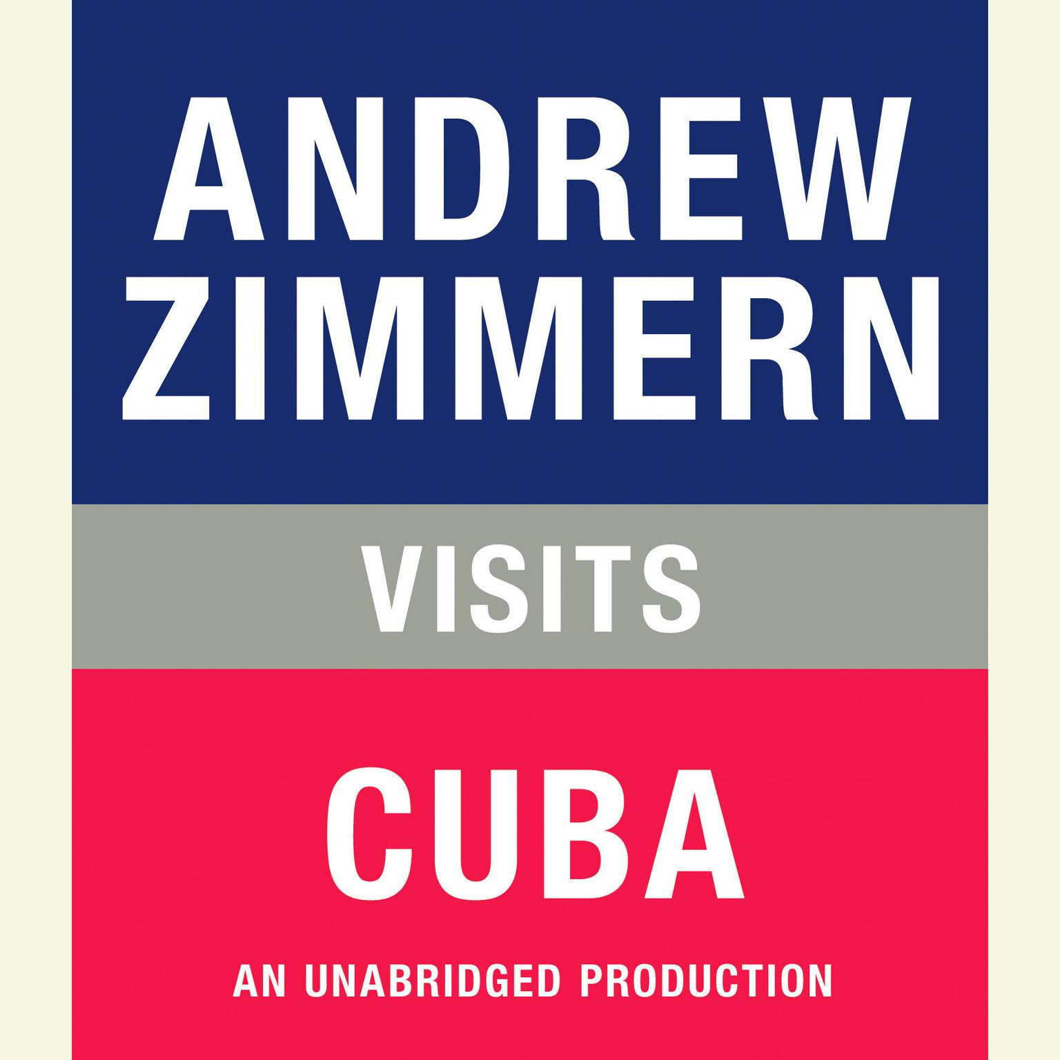 Printable Andrew Zimmern visits Cuba: Chapter 20 from THE BIZARRE TRUTH Audiobook Cover Art