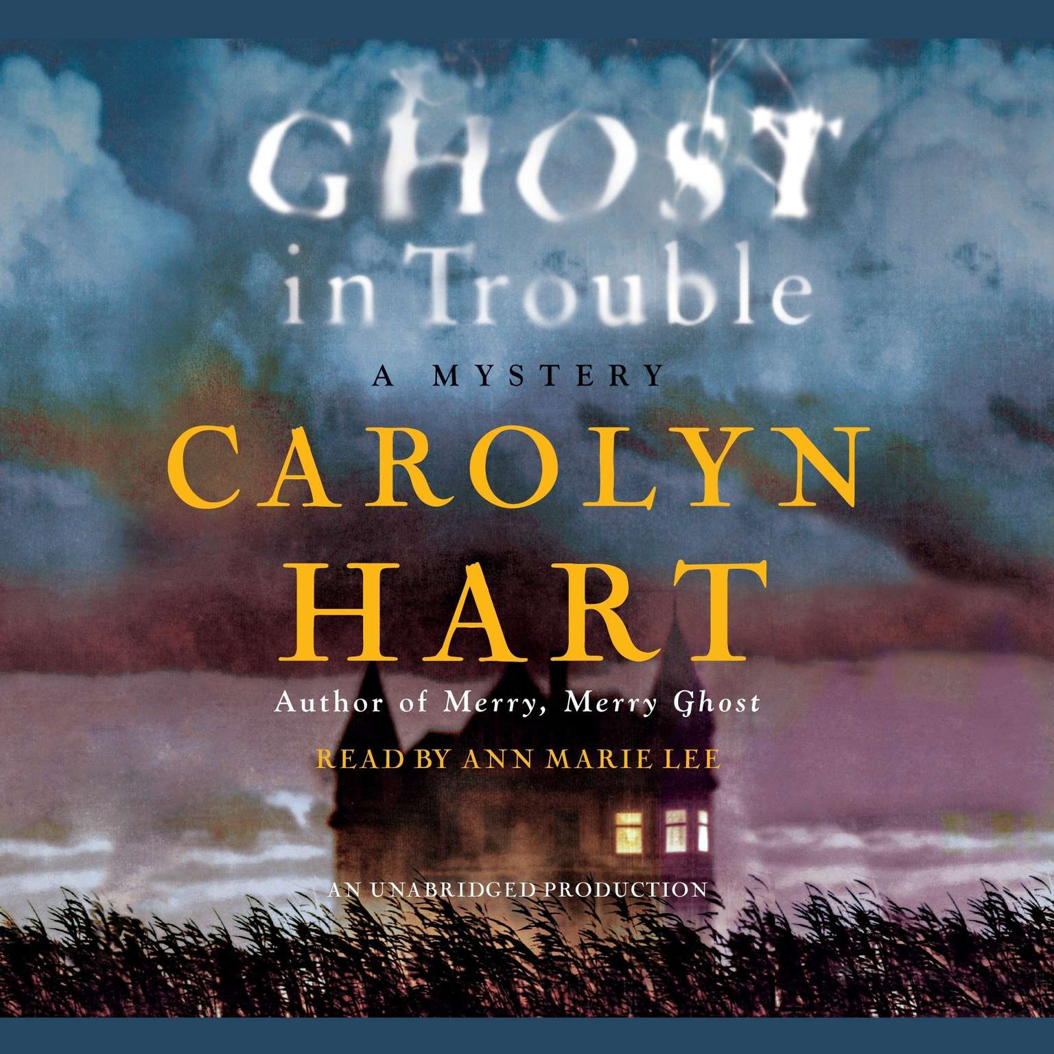 Printable Ghost in Trouble: A Mystery Audiobook Cover Art