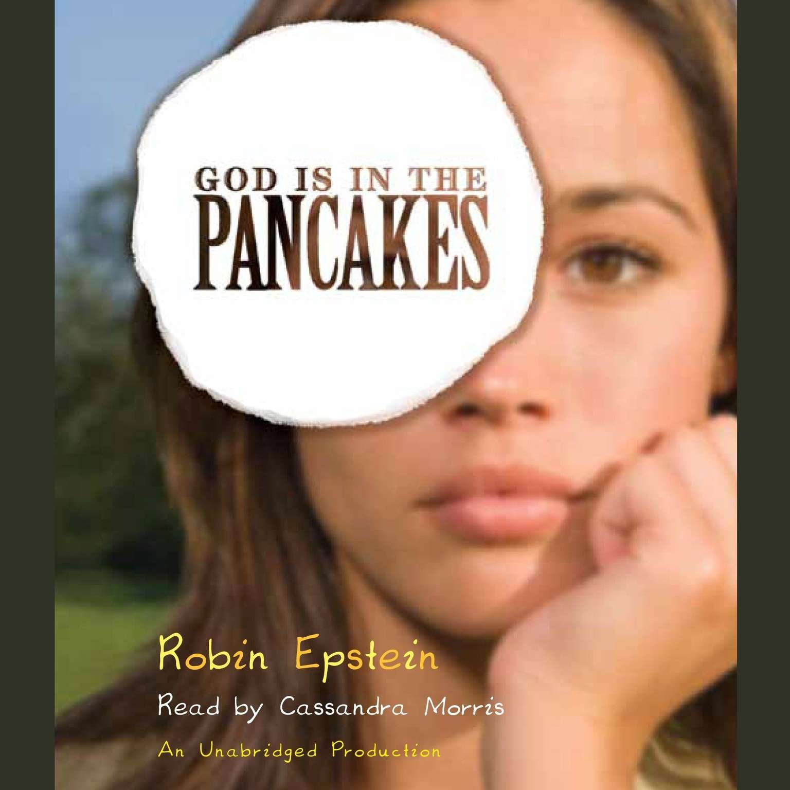 Printable God Is in the Pancakes Audiobook Cover Art