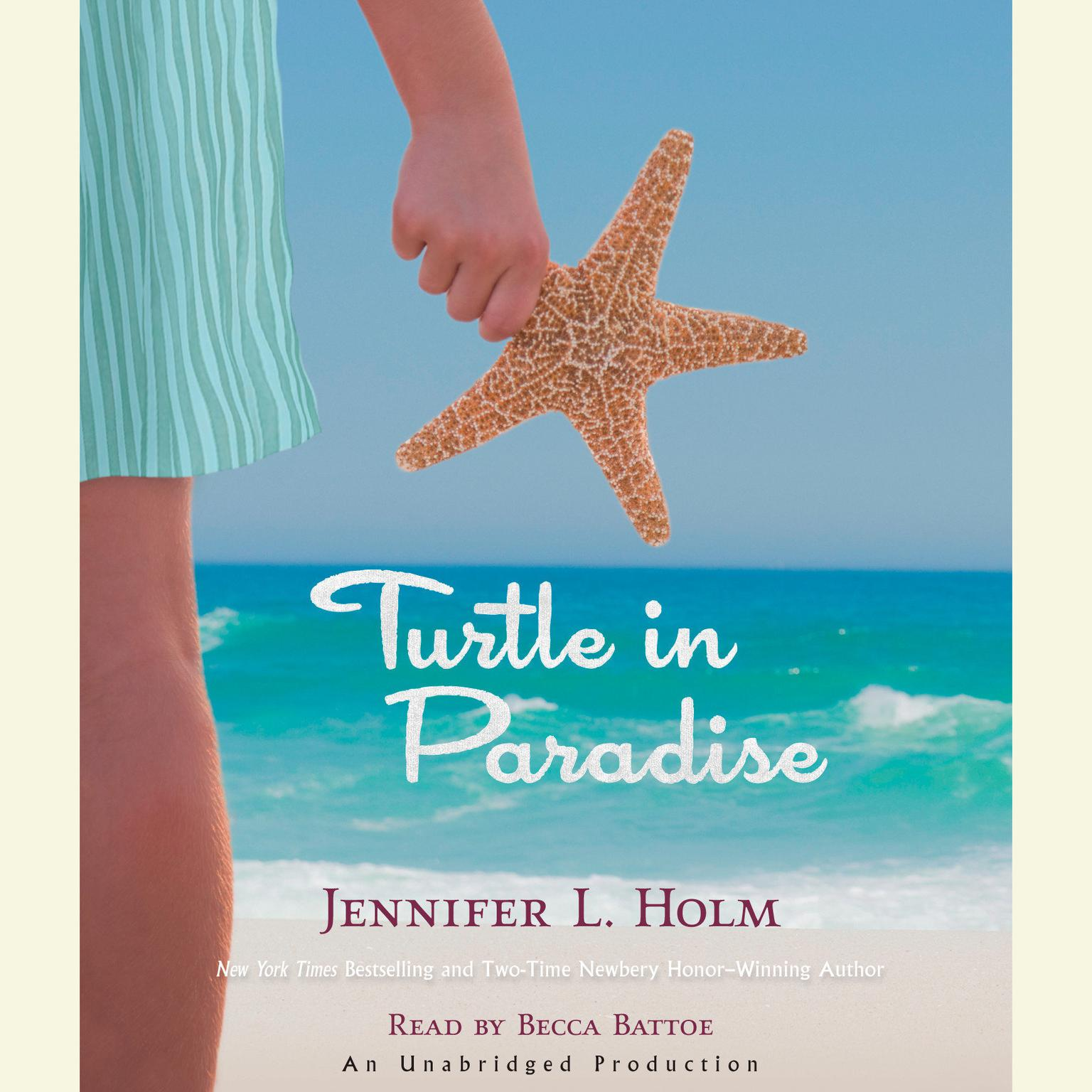 Printable Turtle in Paradise Audiobook Cover Art