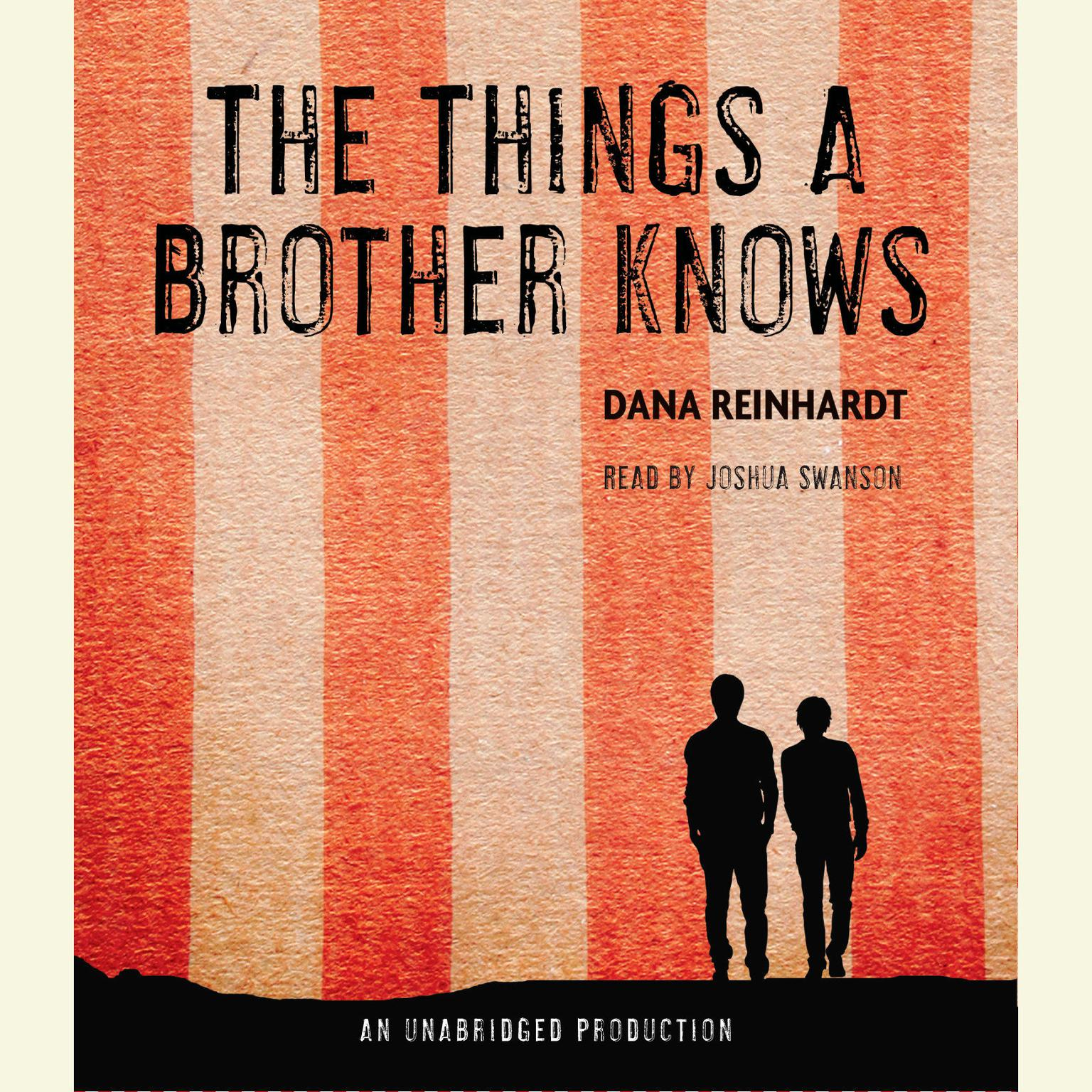 Printable The Things a Brother Knows Audiobook Cover Art