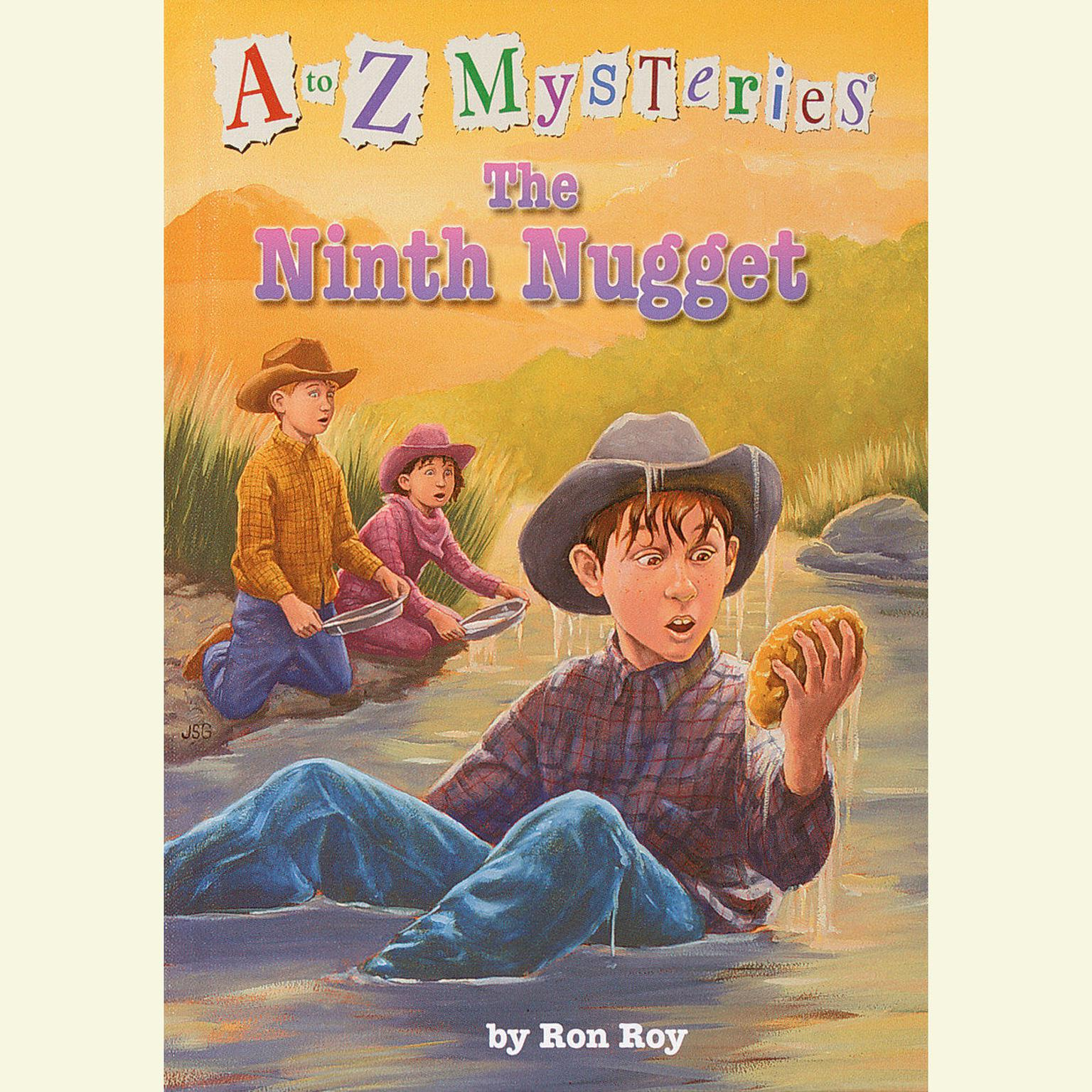 Printable A to Z Mysteries: The Ninth Nugget Audiobook Cover Art