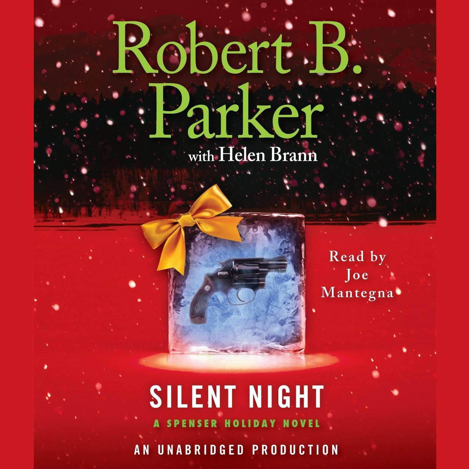 Printable Silent Night: A Spenser Holiday Novel Audiobook Cover Art