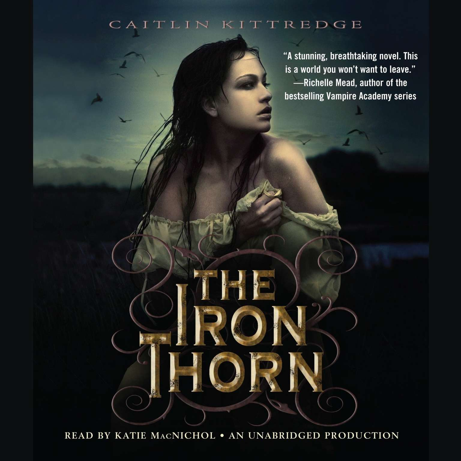 Printable The Iron Thorn The Iron Codex Book One Audiobook Cover Art