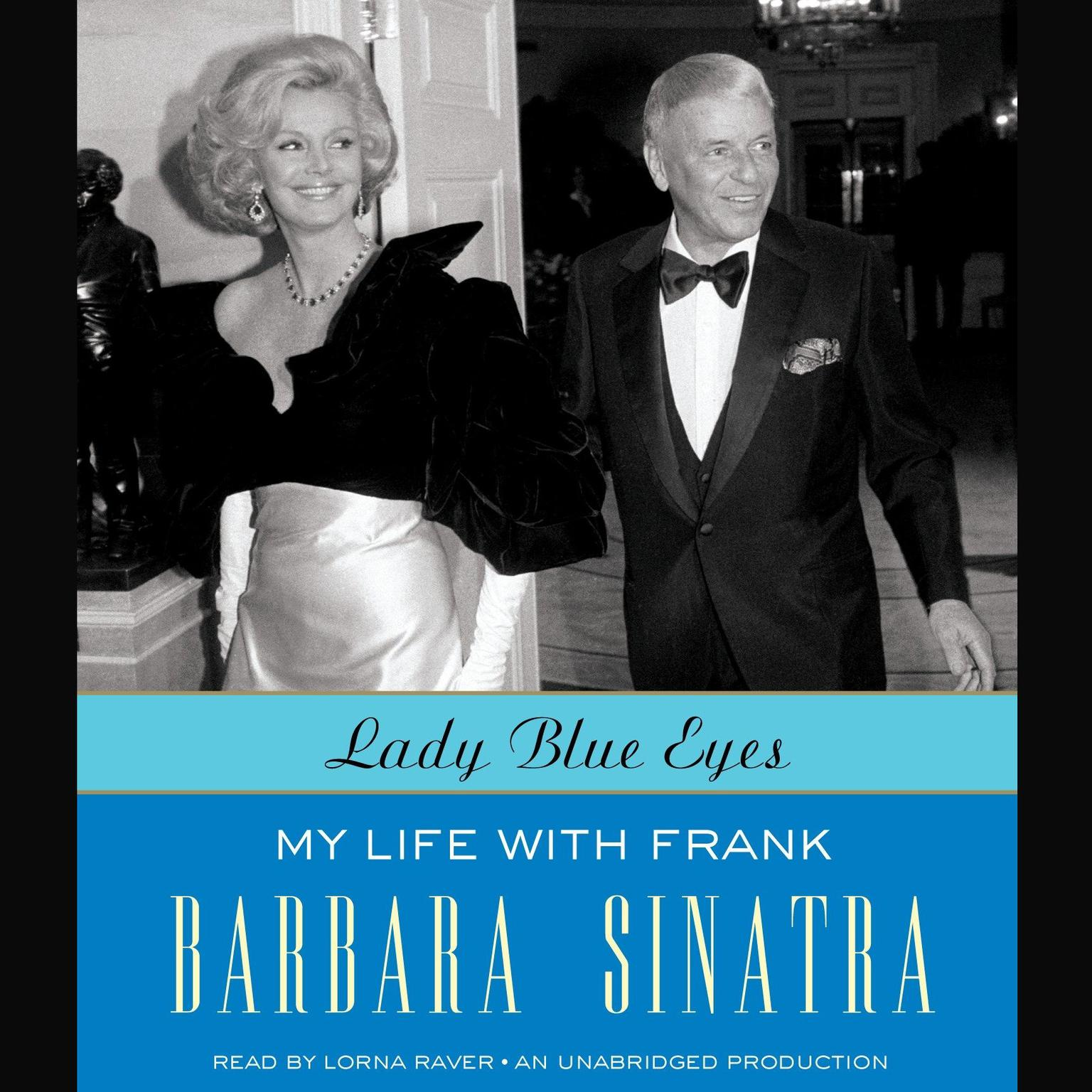 Printable Lady Blue Eyes: My Life with Frank Audiobook Cover Art