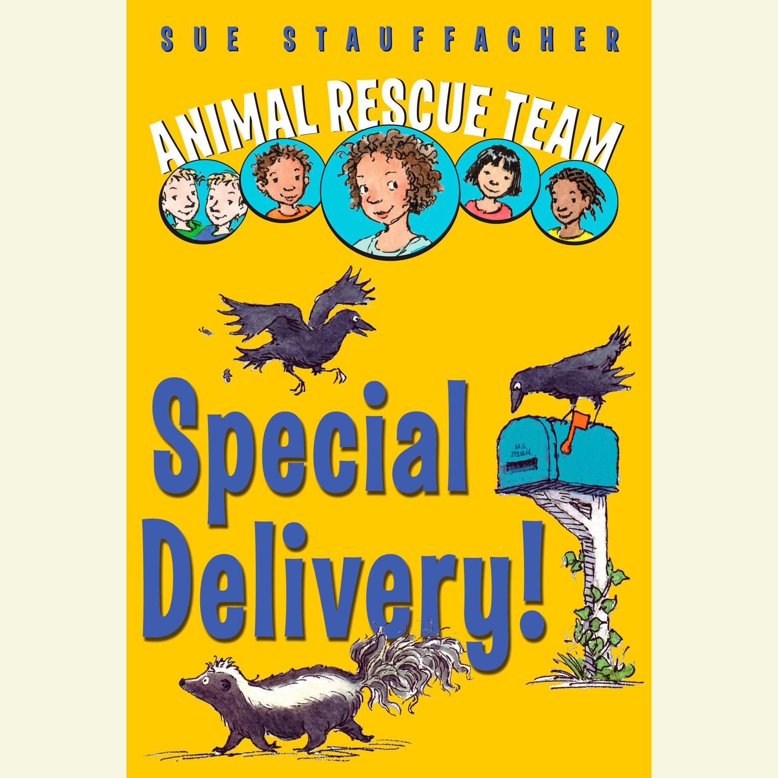 Printable Animal Rescue Team: Special Delivery! Audiobook Cover Art