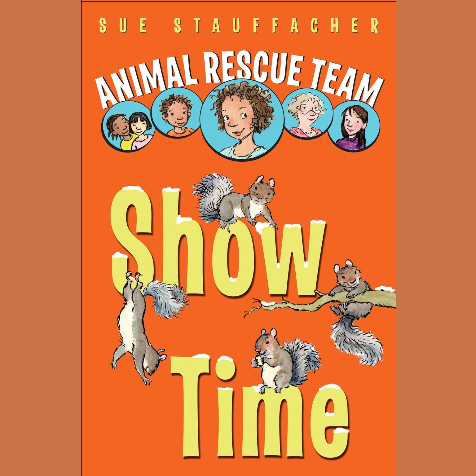 Printable Animal Rescue Team: Show Time Audiobook Cover Art