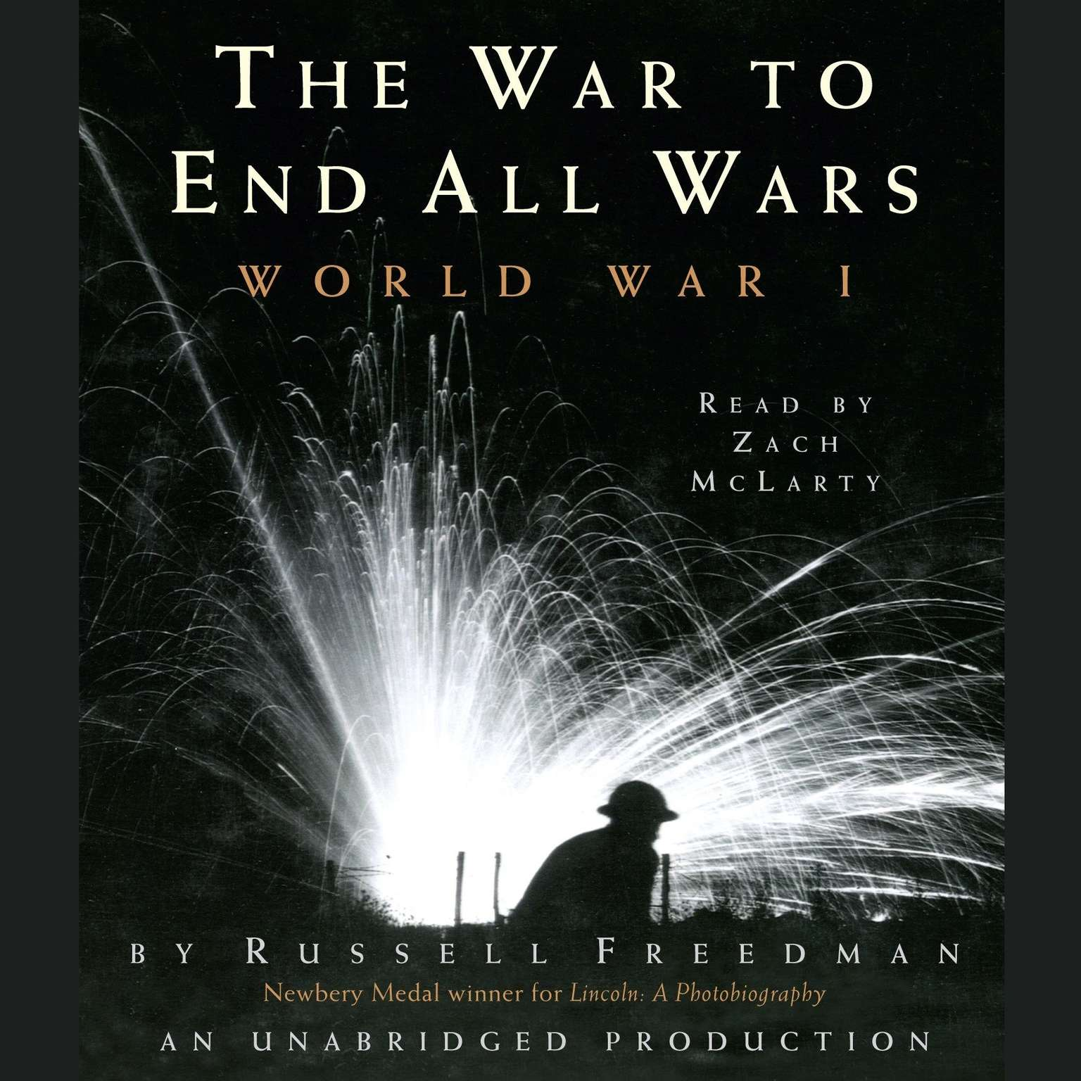 Printable The War to End All Wars: World War I Audiobook Cover Art