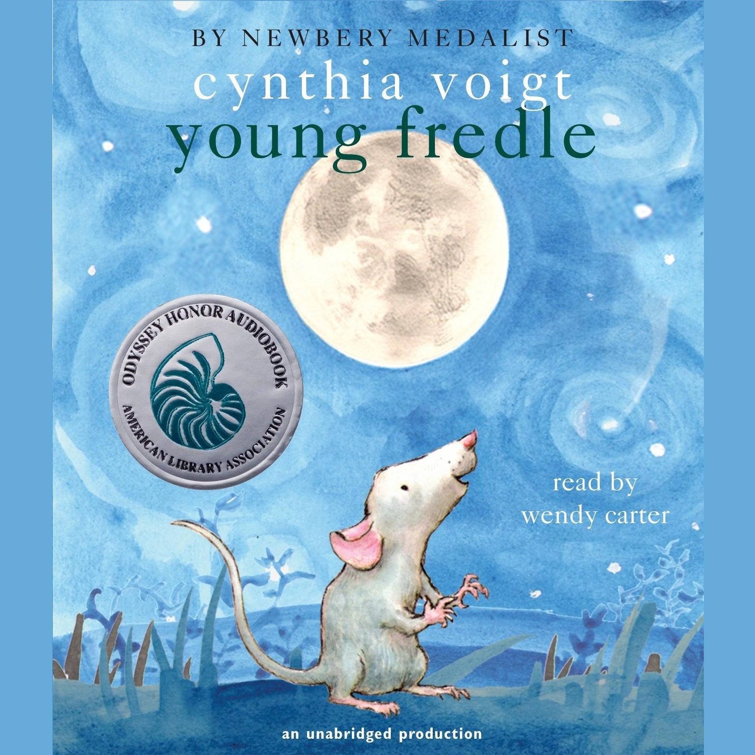 Printable Young Fredle Audiobook Cover Art