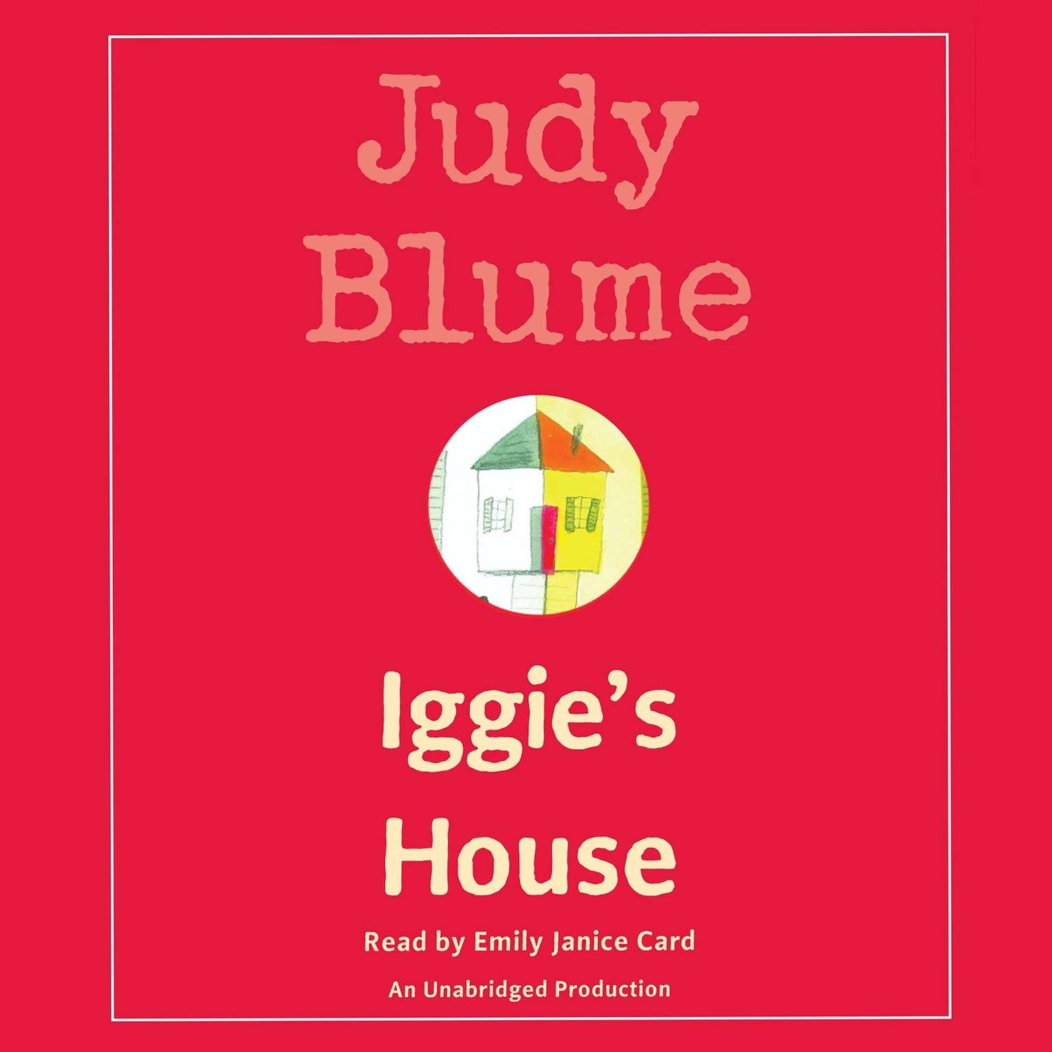 Printable Iggie's House Audiobook Cover Art