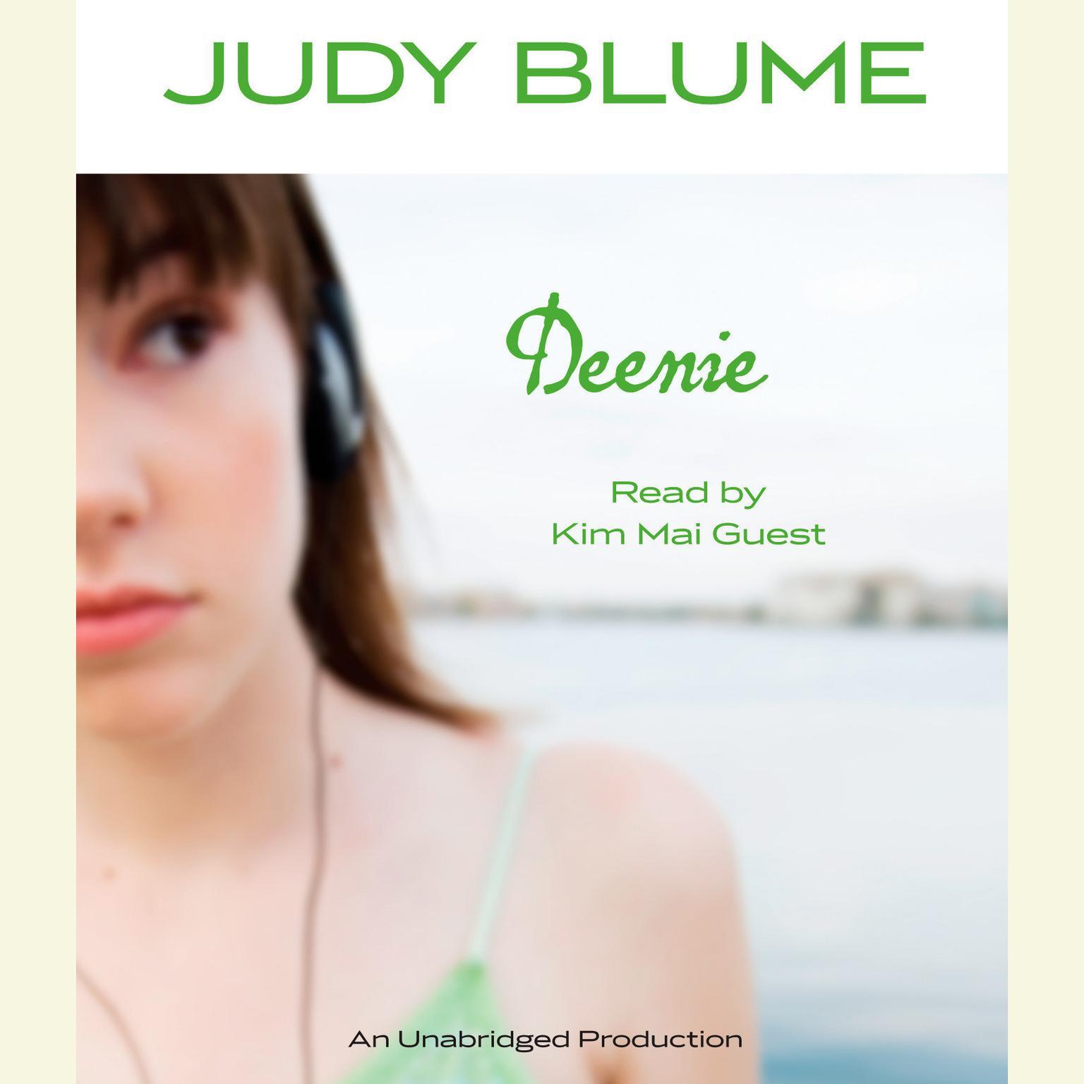 Printable Deenie Audiobook Cover Art