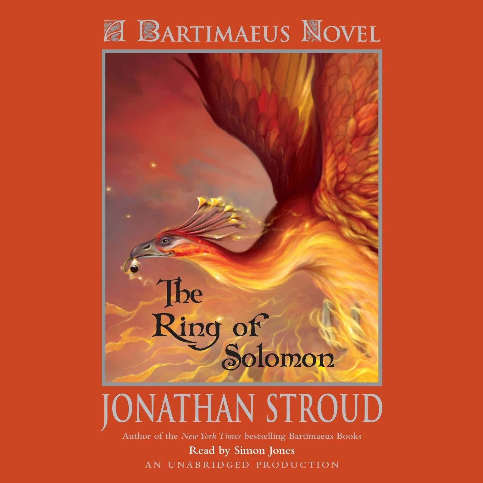 Printable The Ring of Solomon: A Bartimaeus Novel: A Bartimaeus Novel Audiobook Cover Art