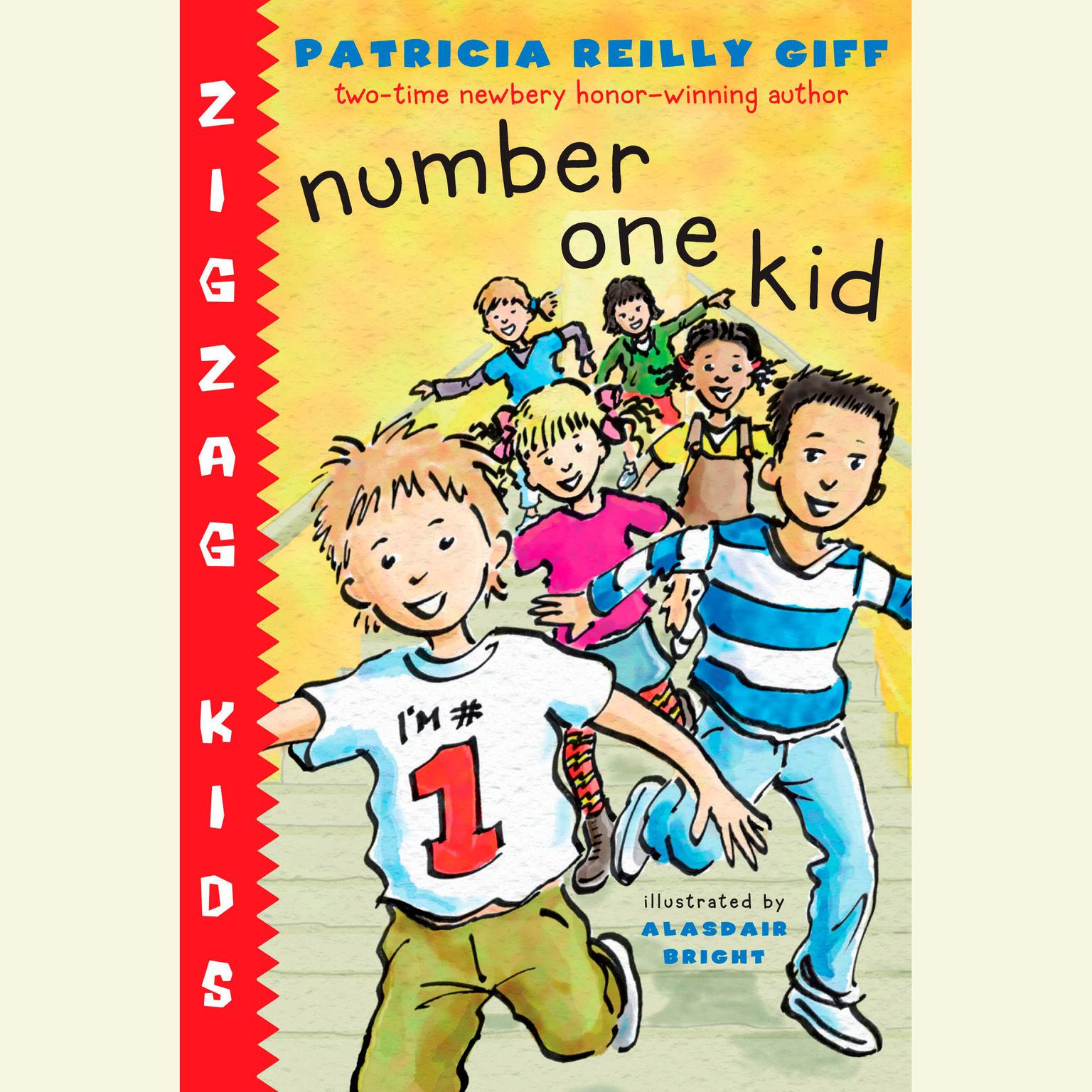 Printable Number One Kid Audiobook Cover Art