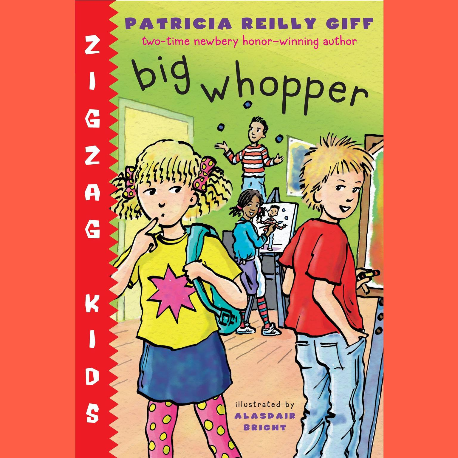 Printable Big Whopper: Zigzag Kids Book 2 Audiobook Cover Art