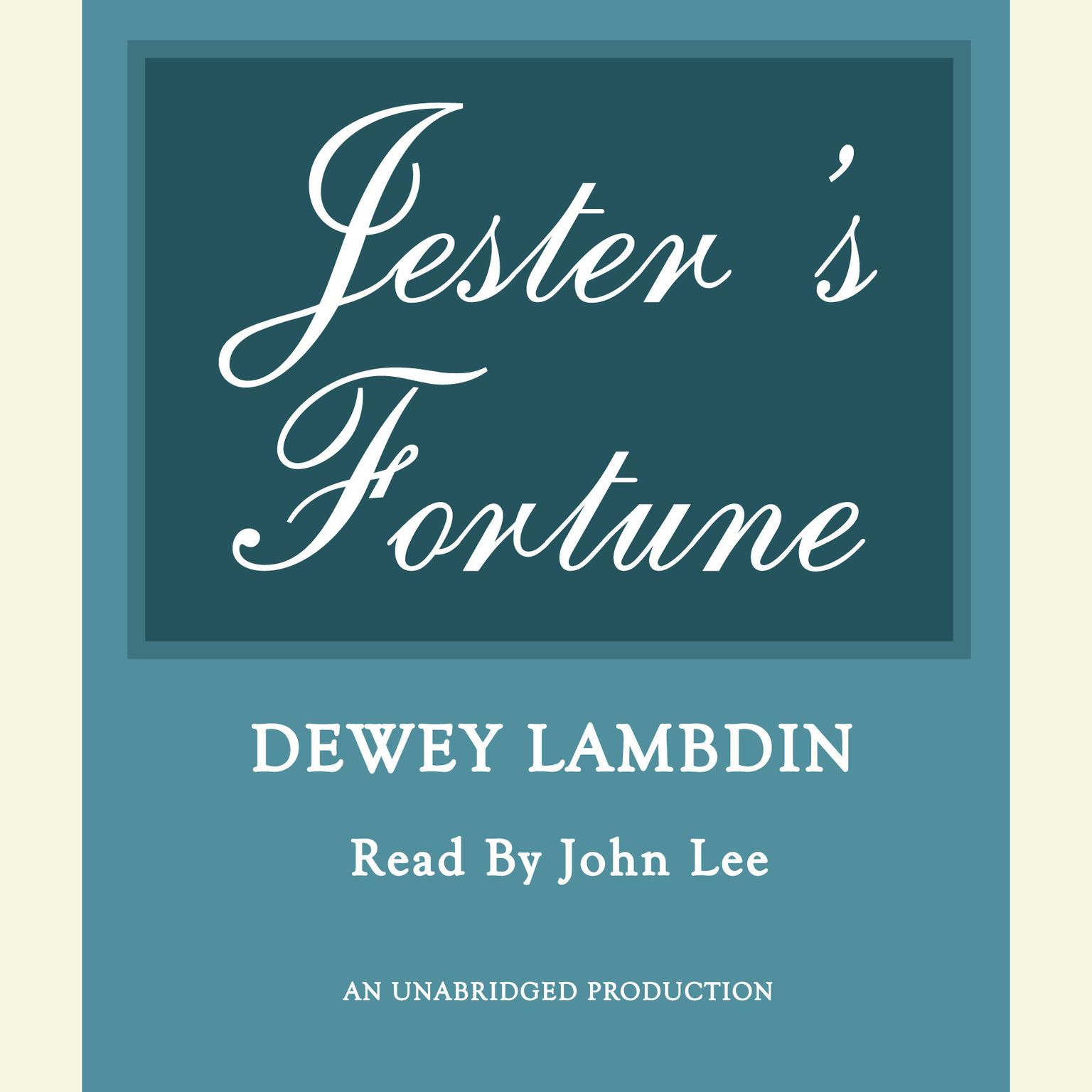 Printable Jester's Fortune Audiobook Cover Art