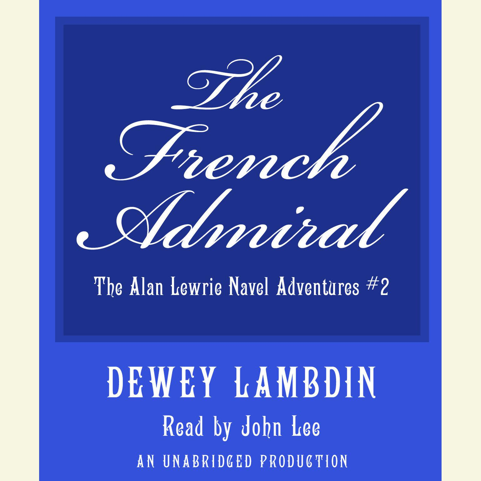 Printable The French Admiral Audiobook Cover Art