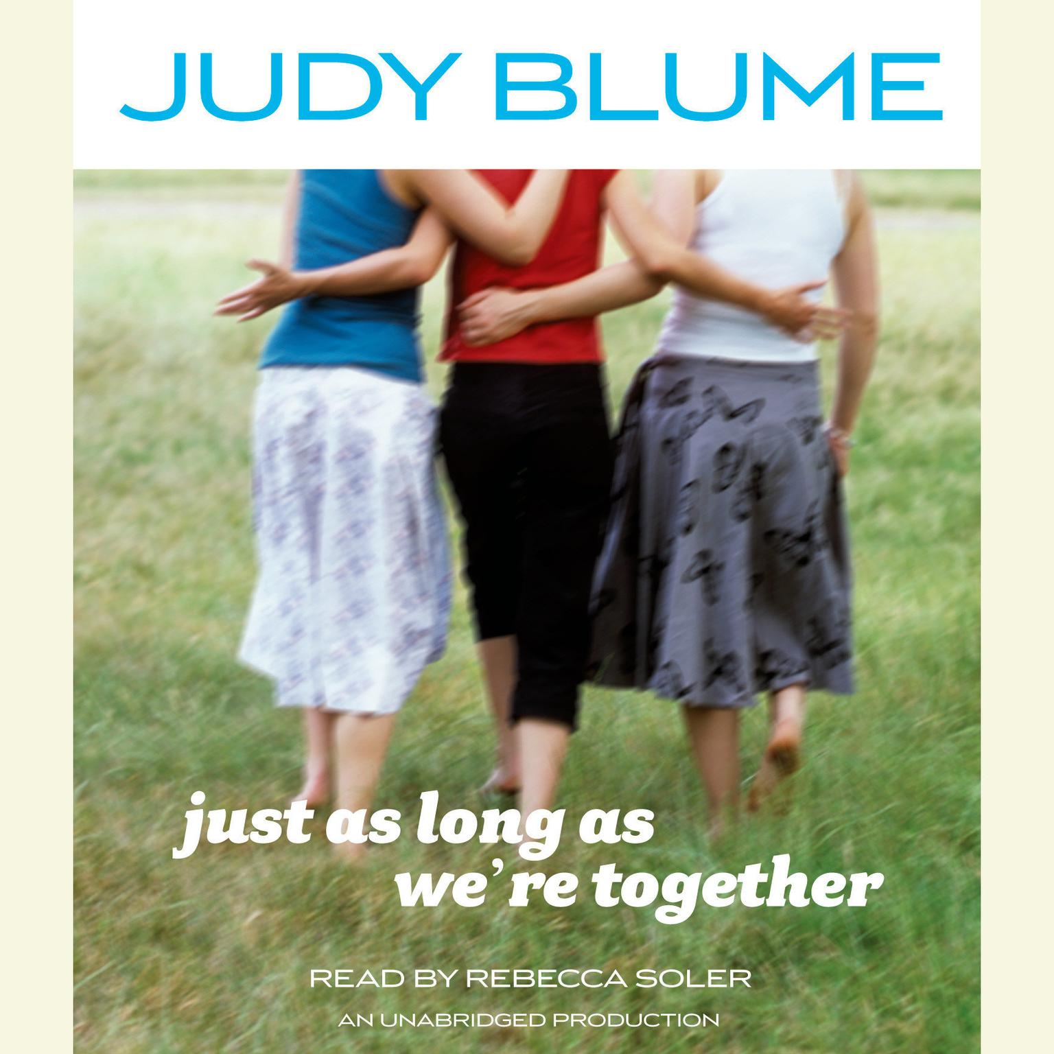 Printable Just as Long as We're Together Audiobook Cover Art