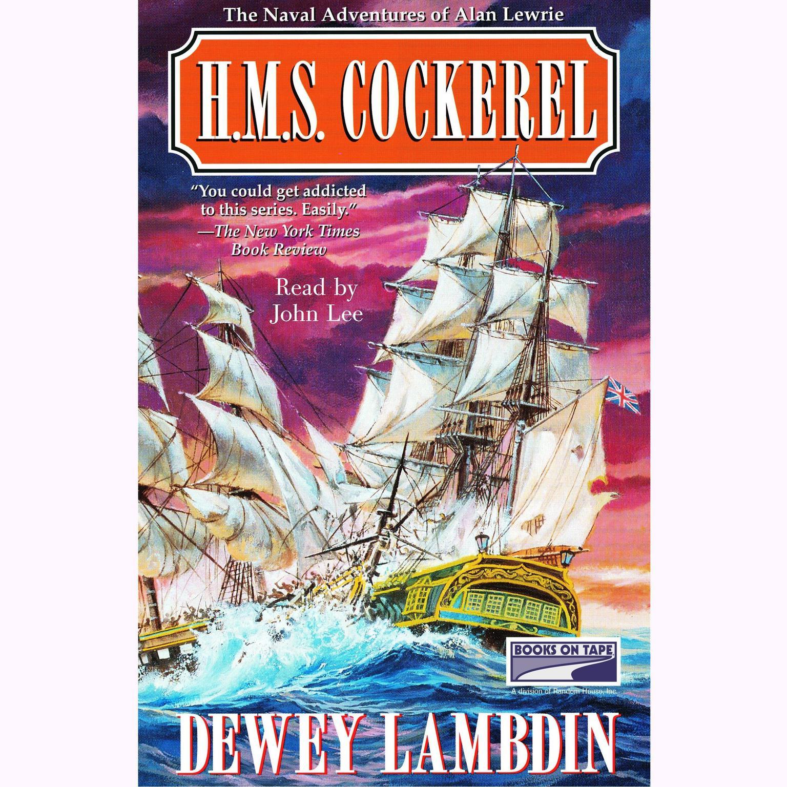 Printable H.M.S. Cockerel Audiobook Cover Art