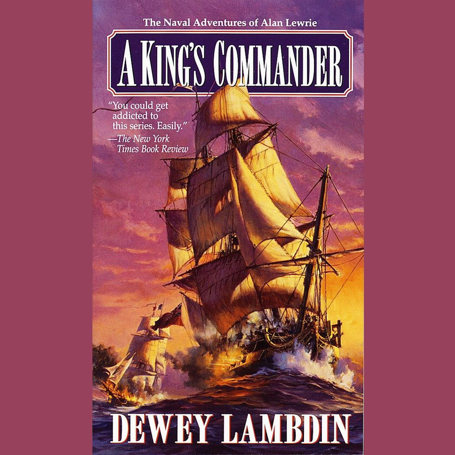 Printable A King's Commander Audiobook Cover Art
