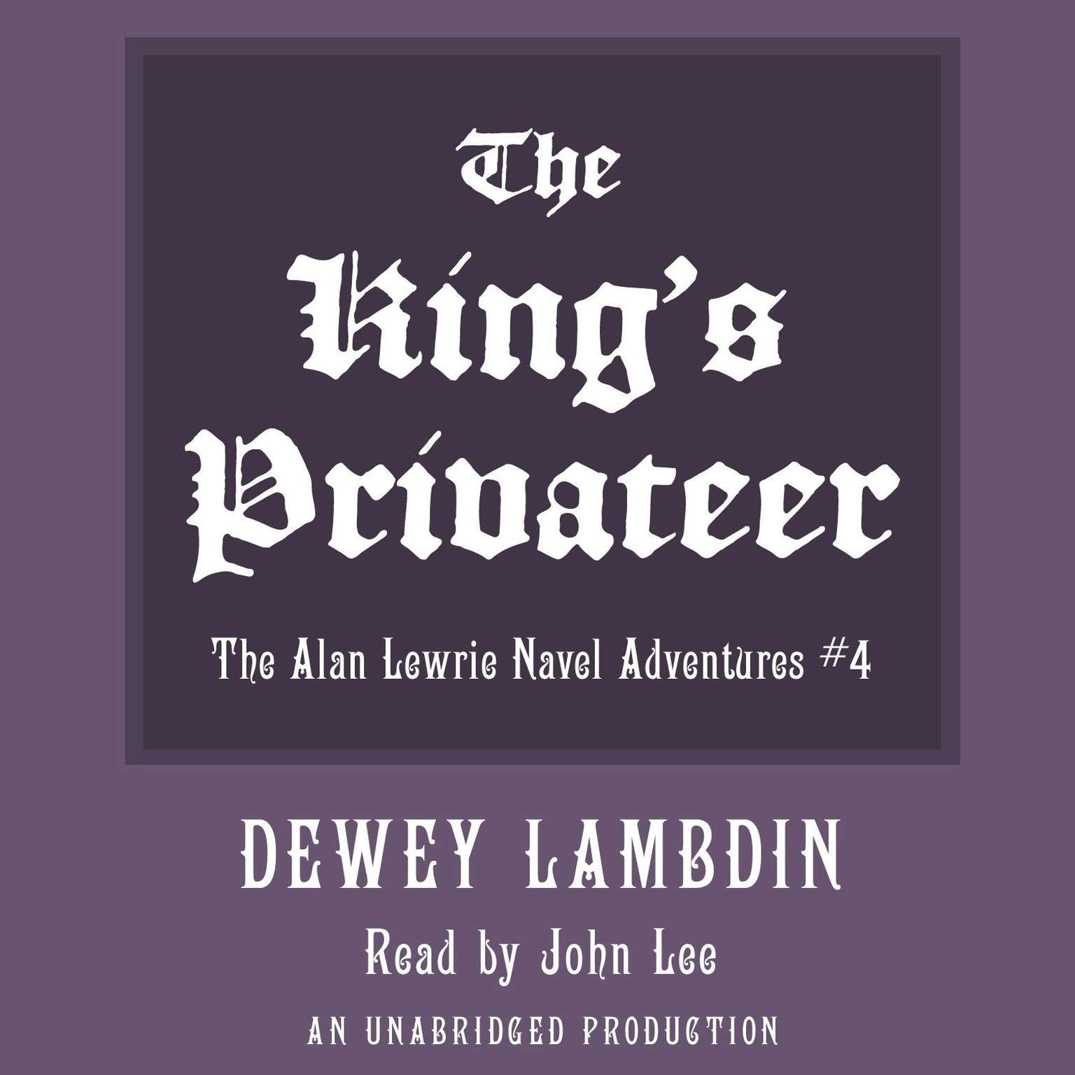 Printable The King's Privateer Audiobook Cover Art