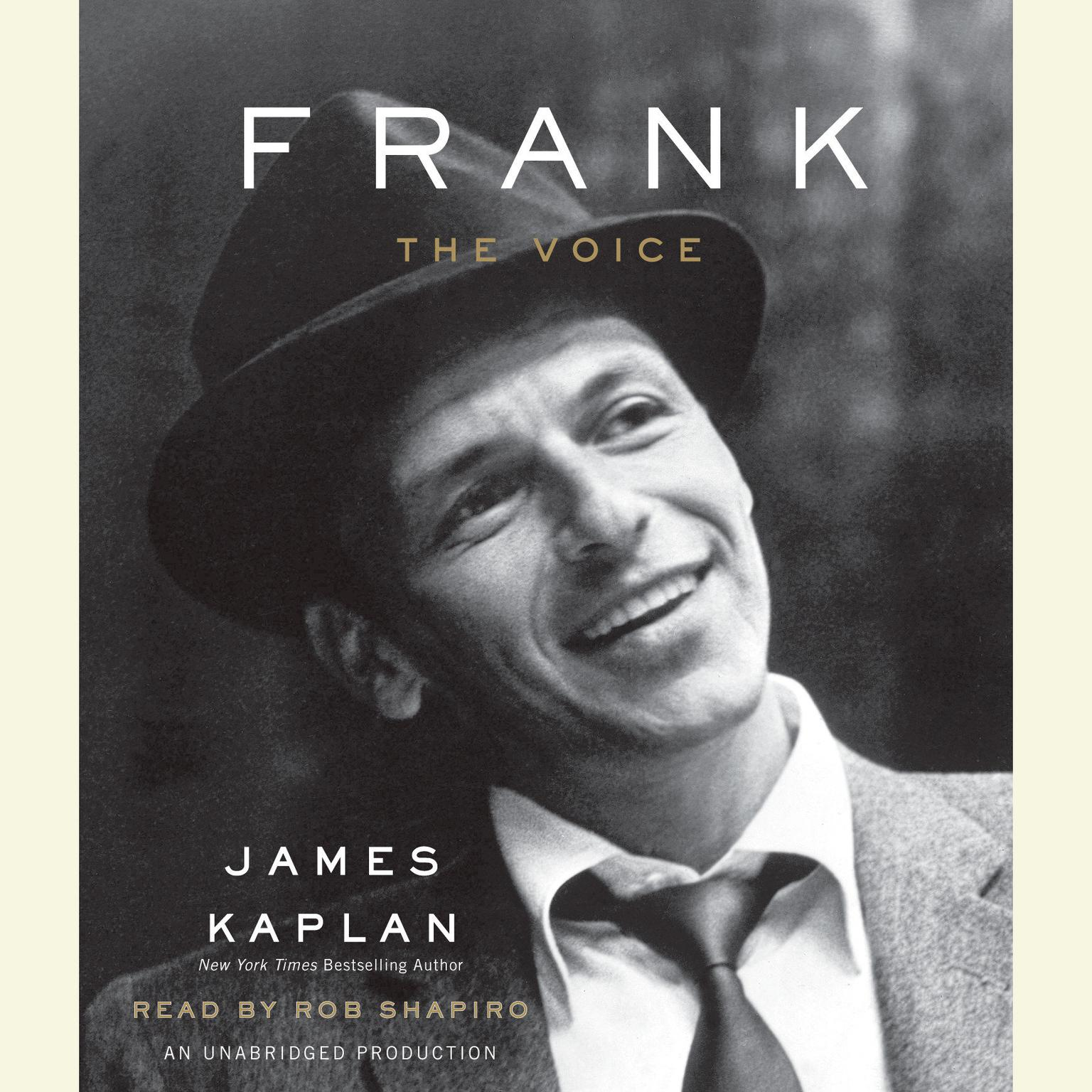 Printable Frank: The Voice Audiobook Cover Art