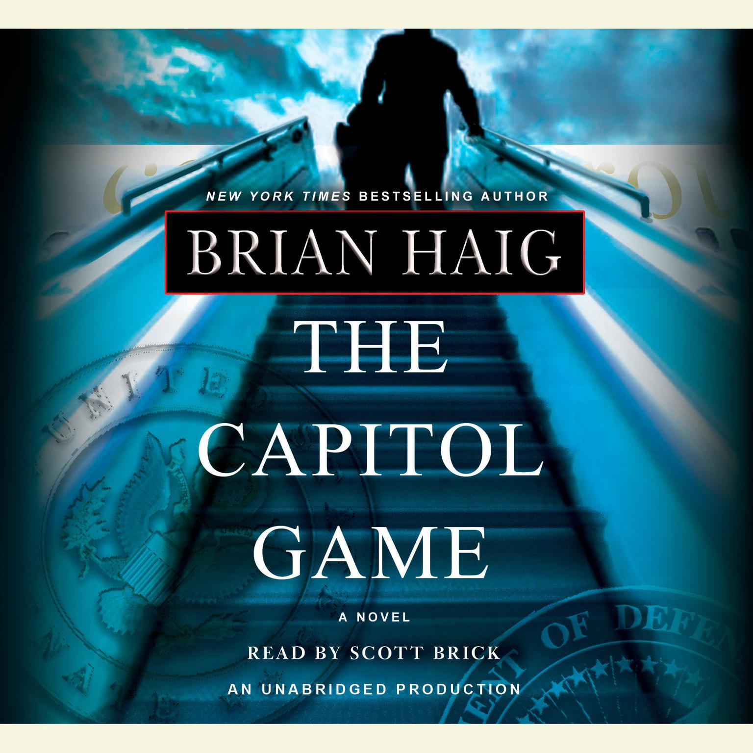 Printable The Capitol Game Audiobook Cover Art