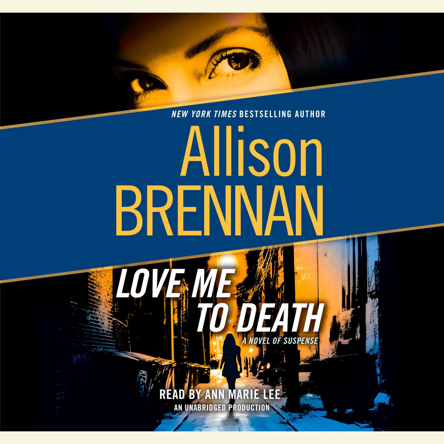 Printable Love Me to Death: A Novel of Suspense Audiobook Cover Art