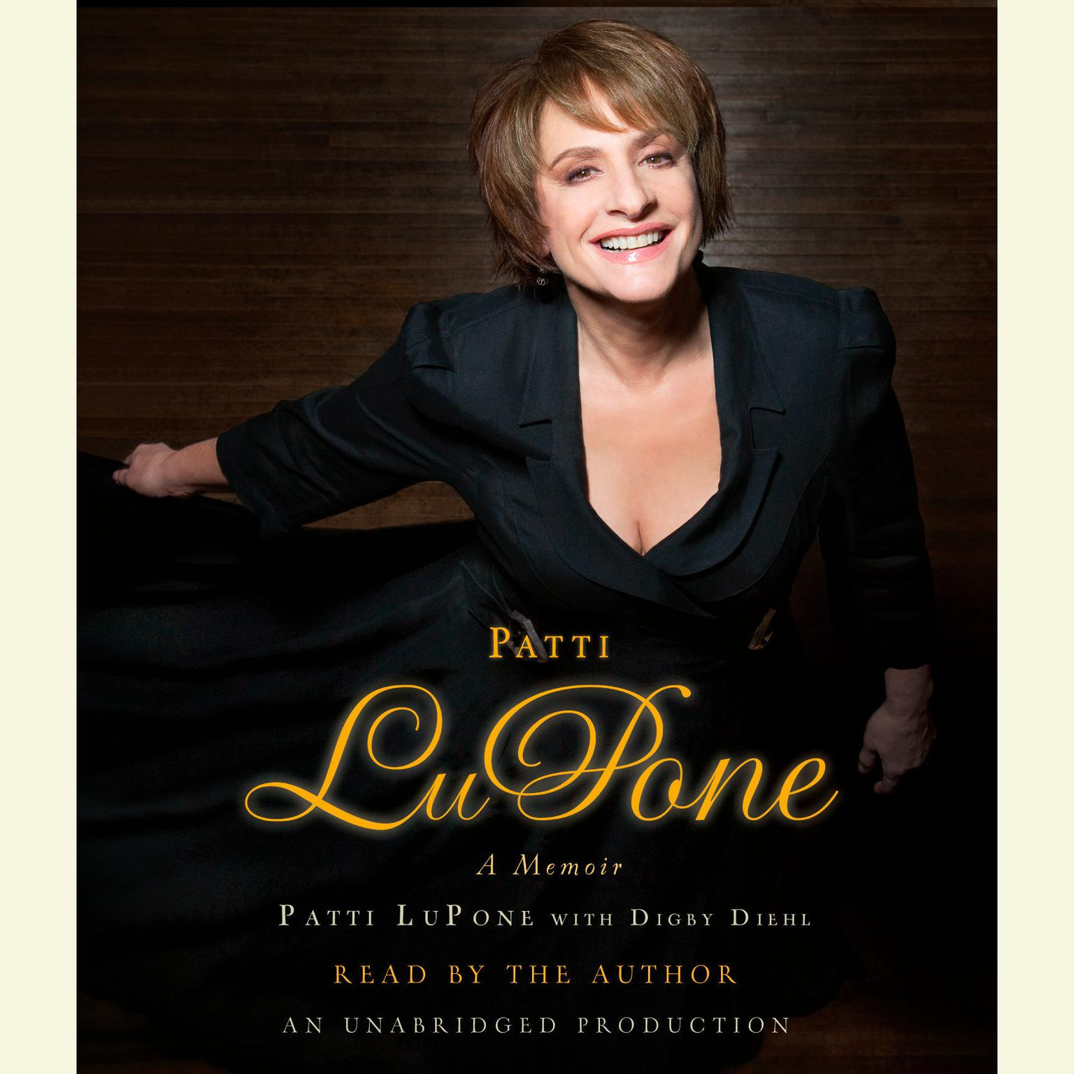 Printable Patti LuPone: A Memoir Audiobook Cover Art