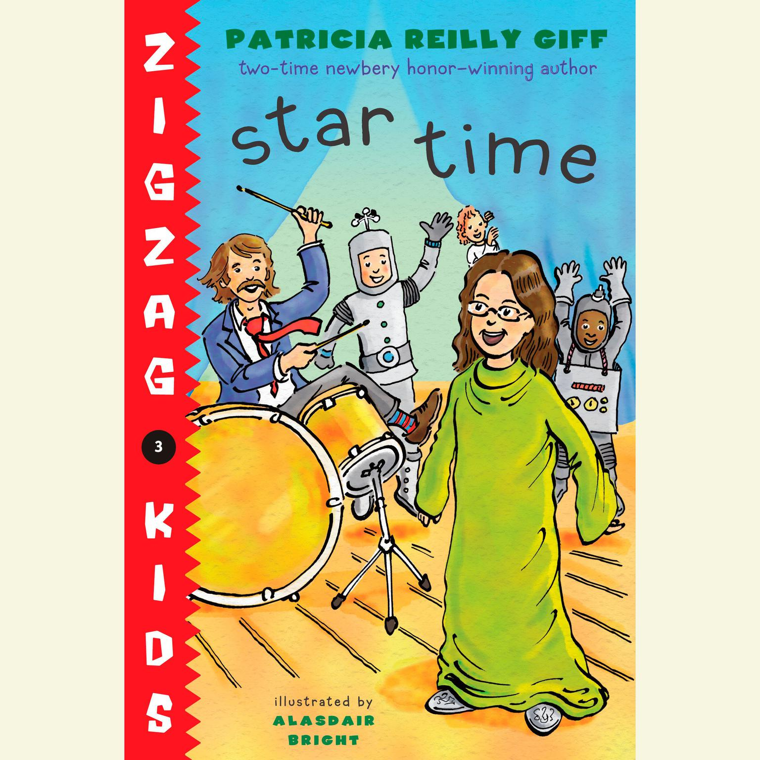 Printable Star Time: Zigzag Kids Book 4 Audiobook Cover Art