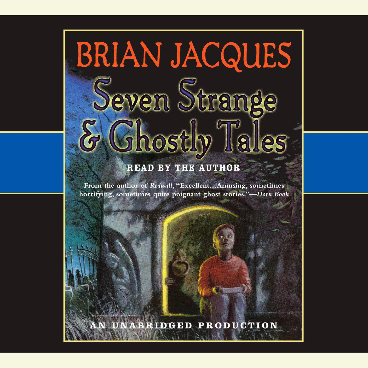 Printable Seven Strange & Ghostly Tales Audiobook Cover Art