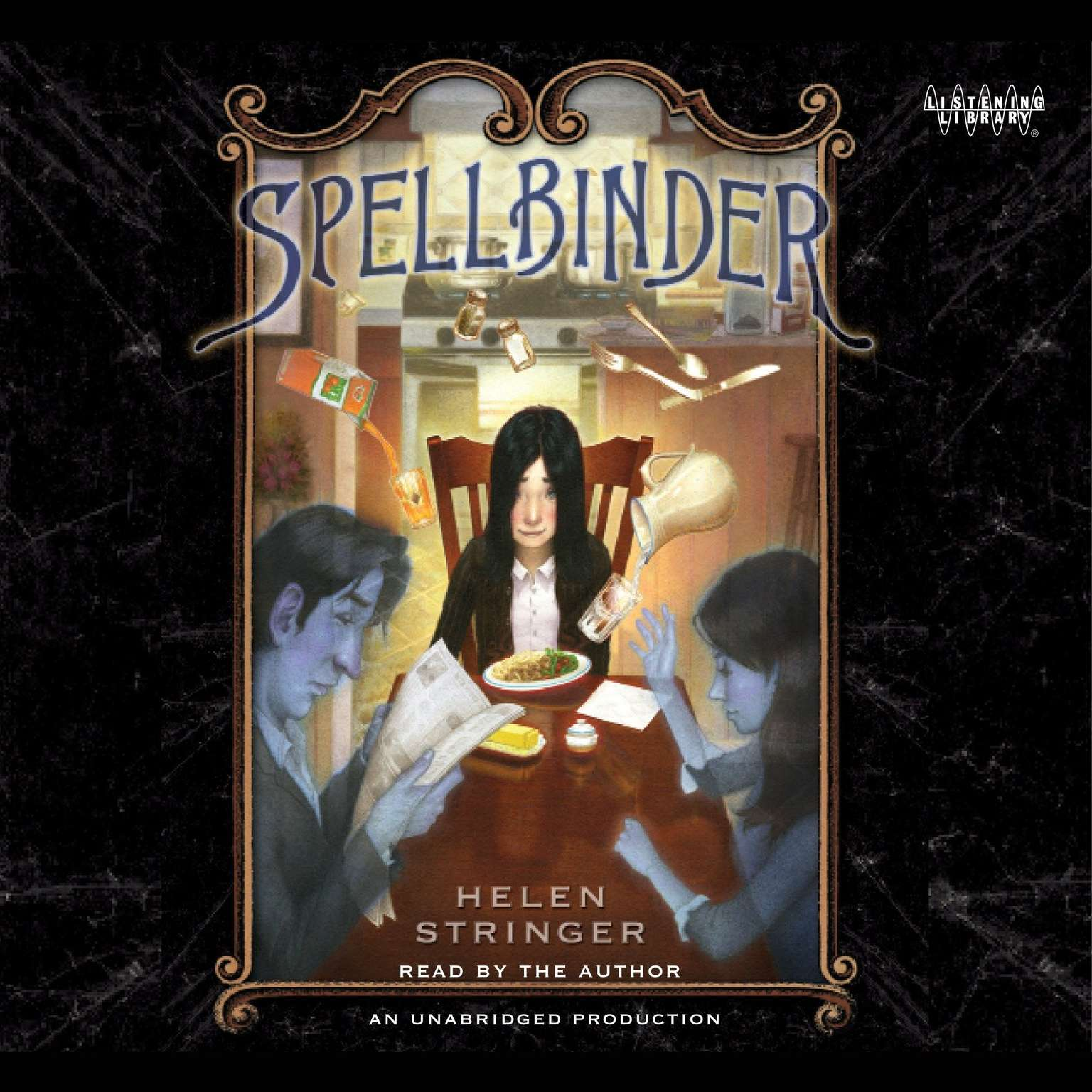 Printable Spellbinder Audiobook Cover Art
