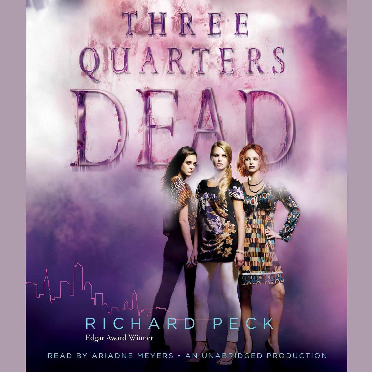 Printable Three Quarters Dead Audiobook Cover Art