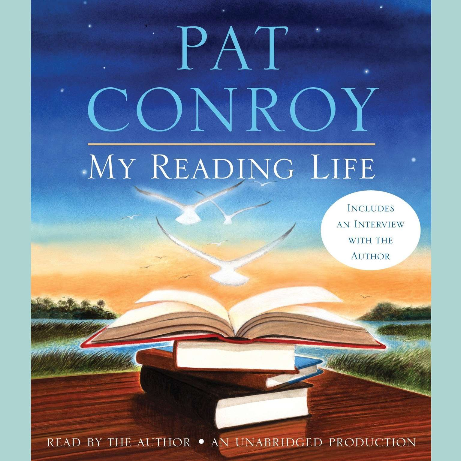 Printable My Reading Life Audiobook Cover Art