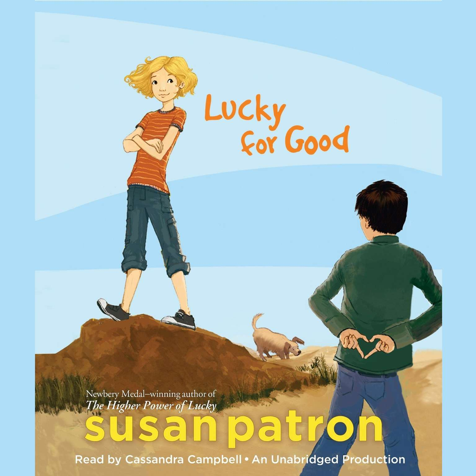 Printable Lucky for Good Audiobook Cover Art