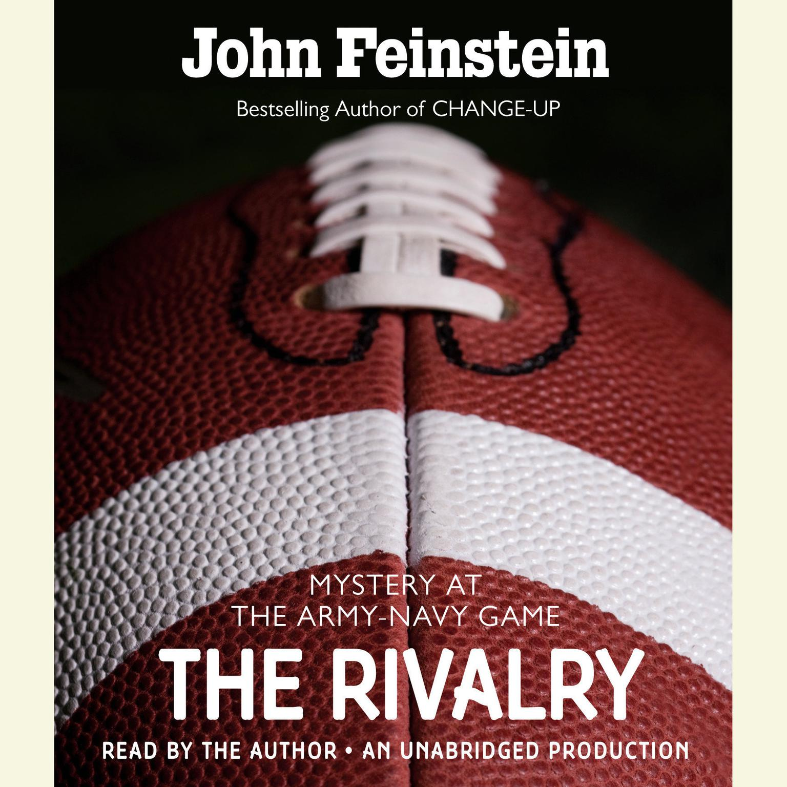 Printable The Rivalry: Mystery at the Army-Navy Game Audiobook Cover Art