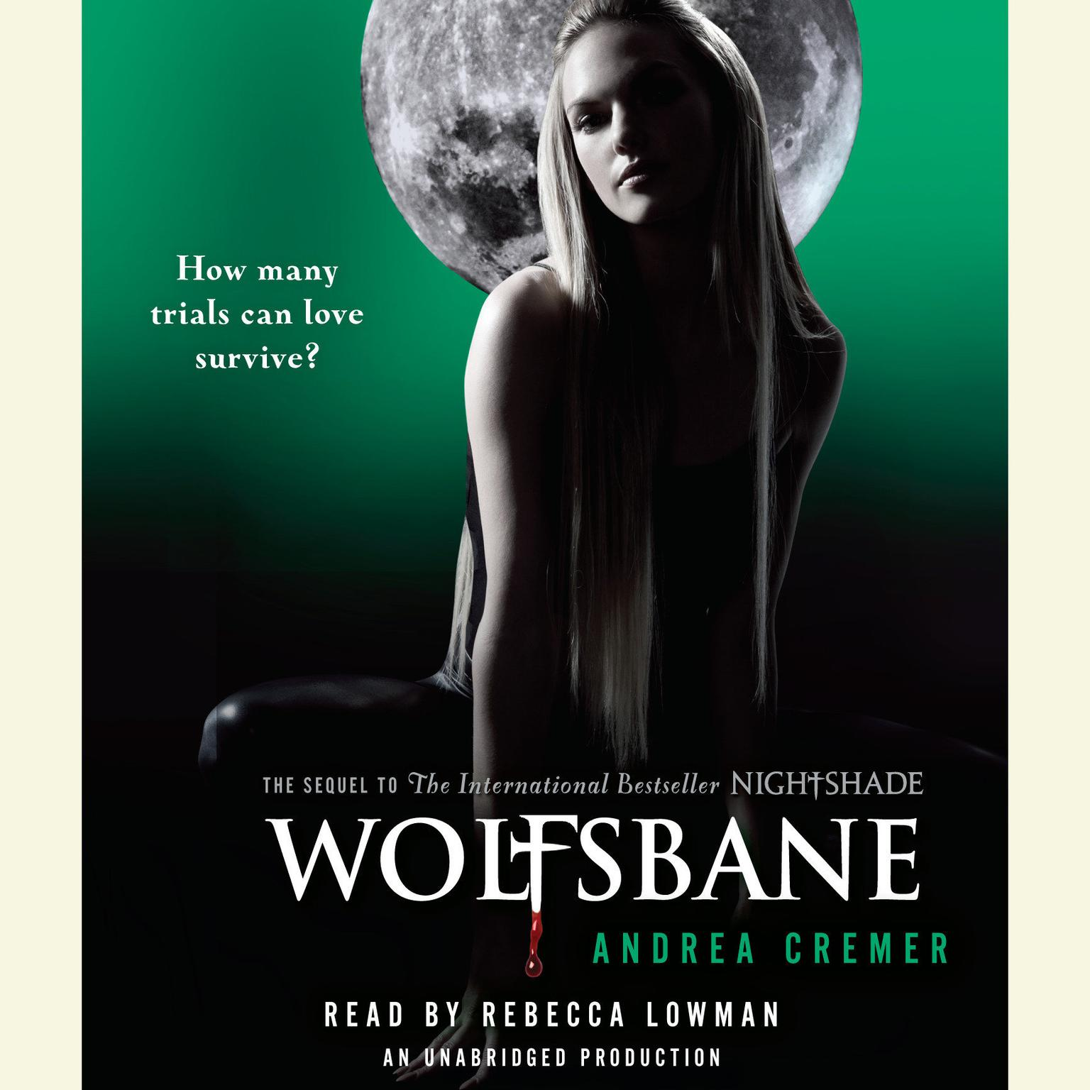 Printable Wolfsbane: A Nightshade Novel Audiobook Cover Art