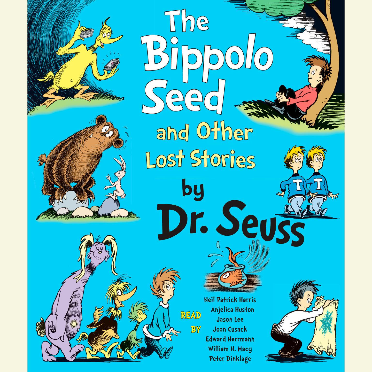Printable The Bippolo Seed and Other Lost Stories Audiobook Cover Art