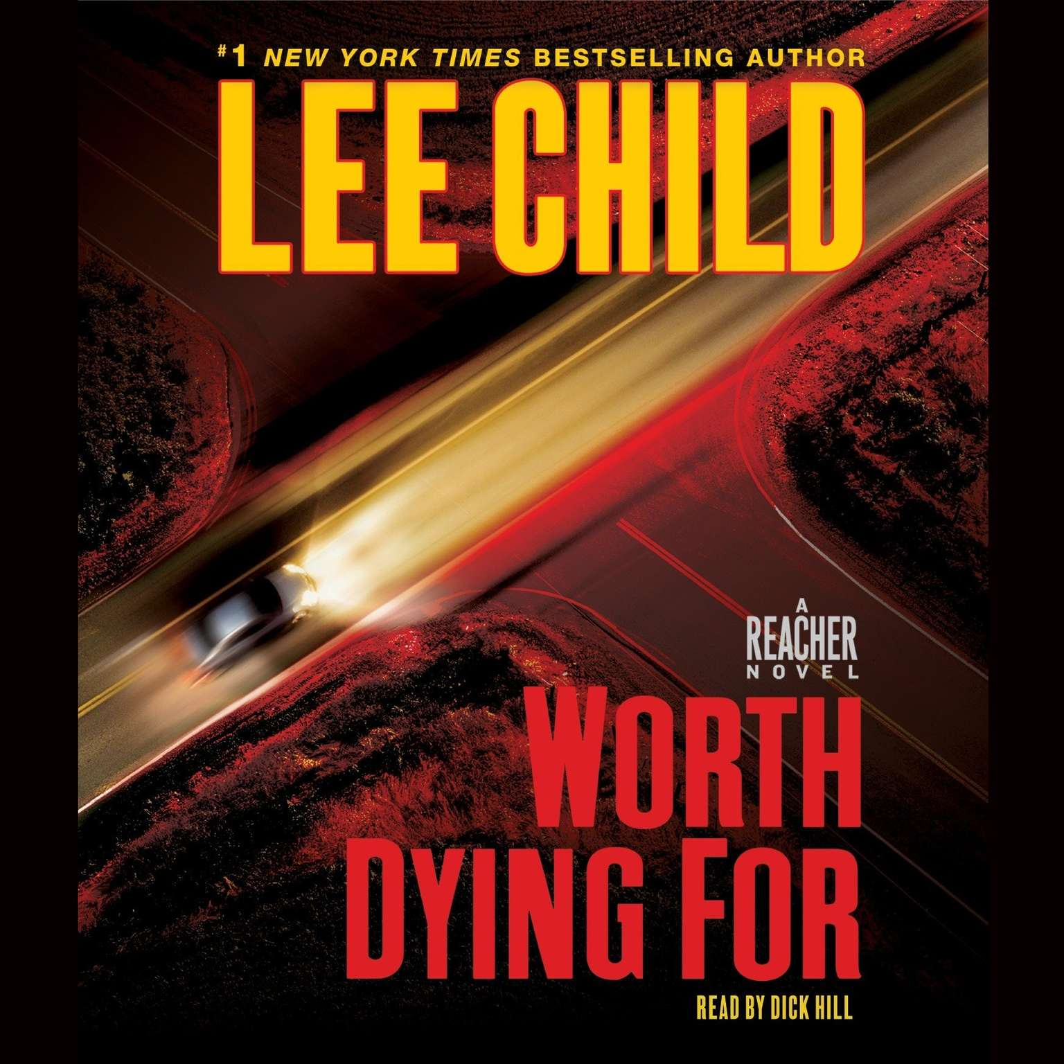 Printable Worth Dying For: A Jack Reacher Novel Audiobook Cover Art