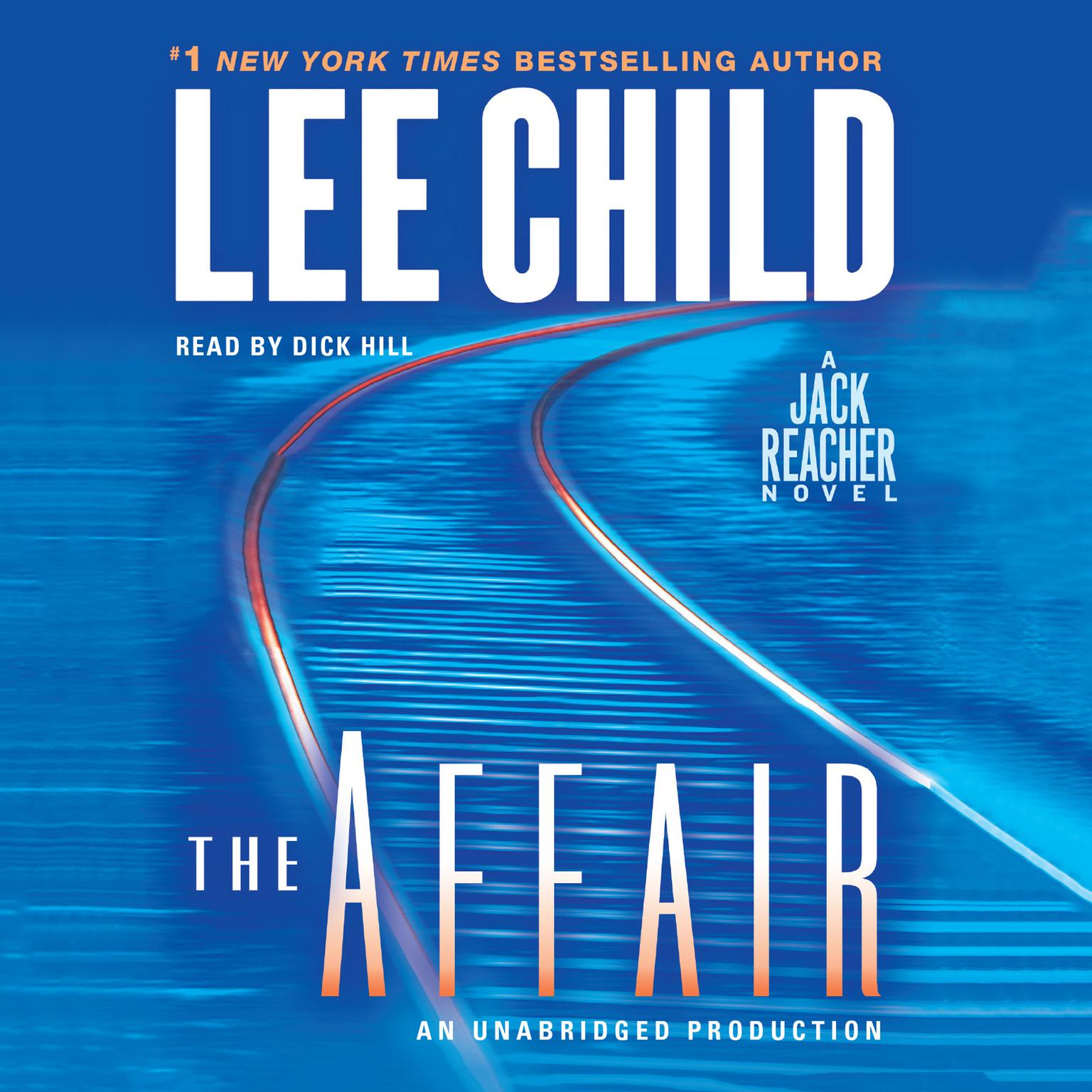 Printable The Affair: A Jack Reacher Novel Audiobook Cover Art